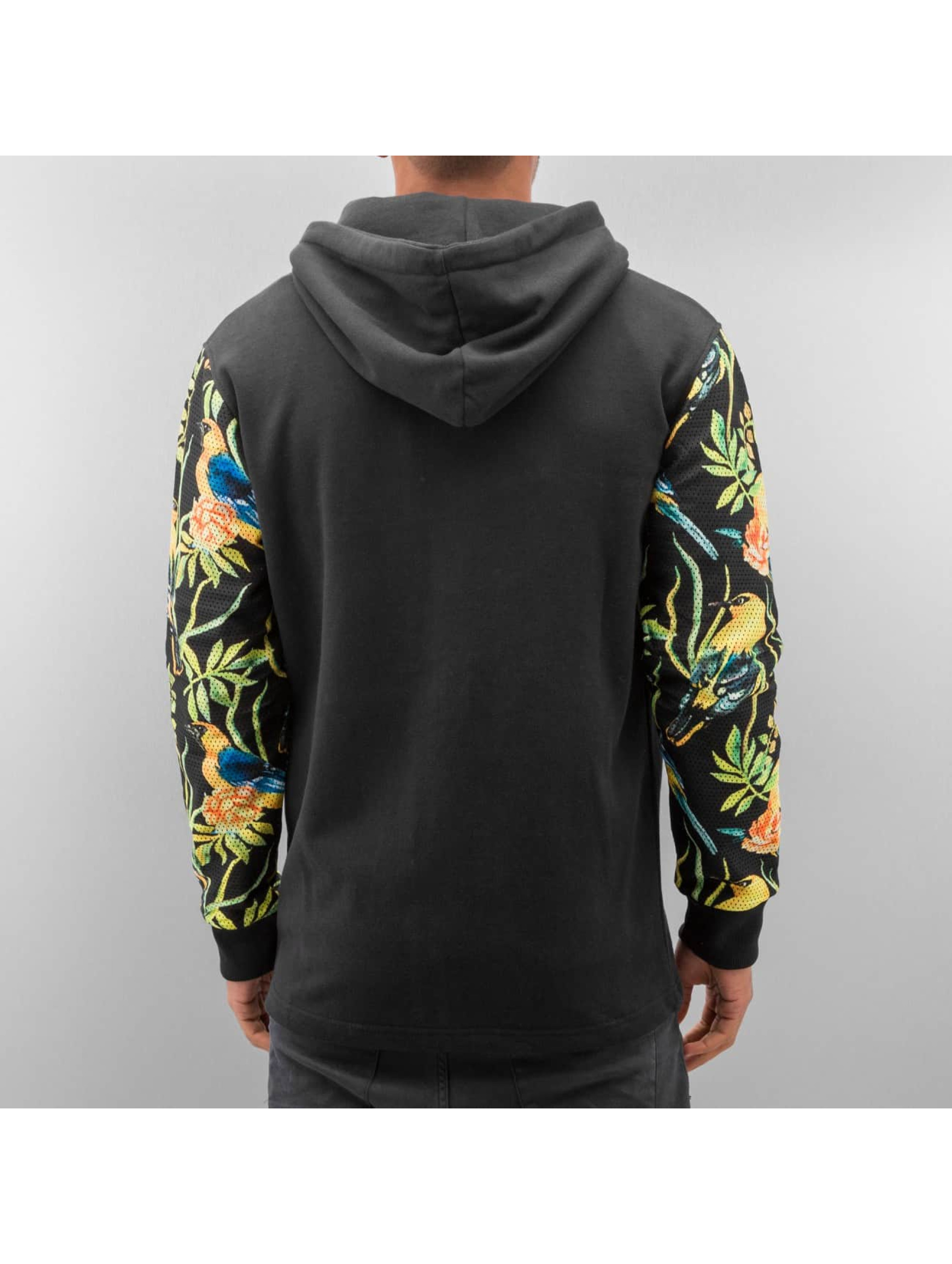 Just Rhyse Sweat capuche zippé Jungle noir