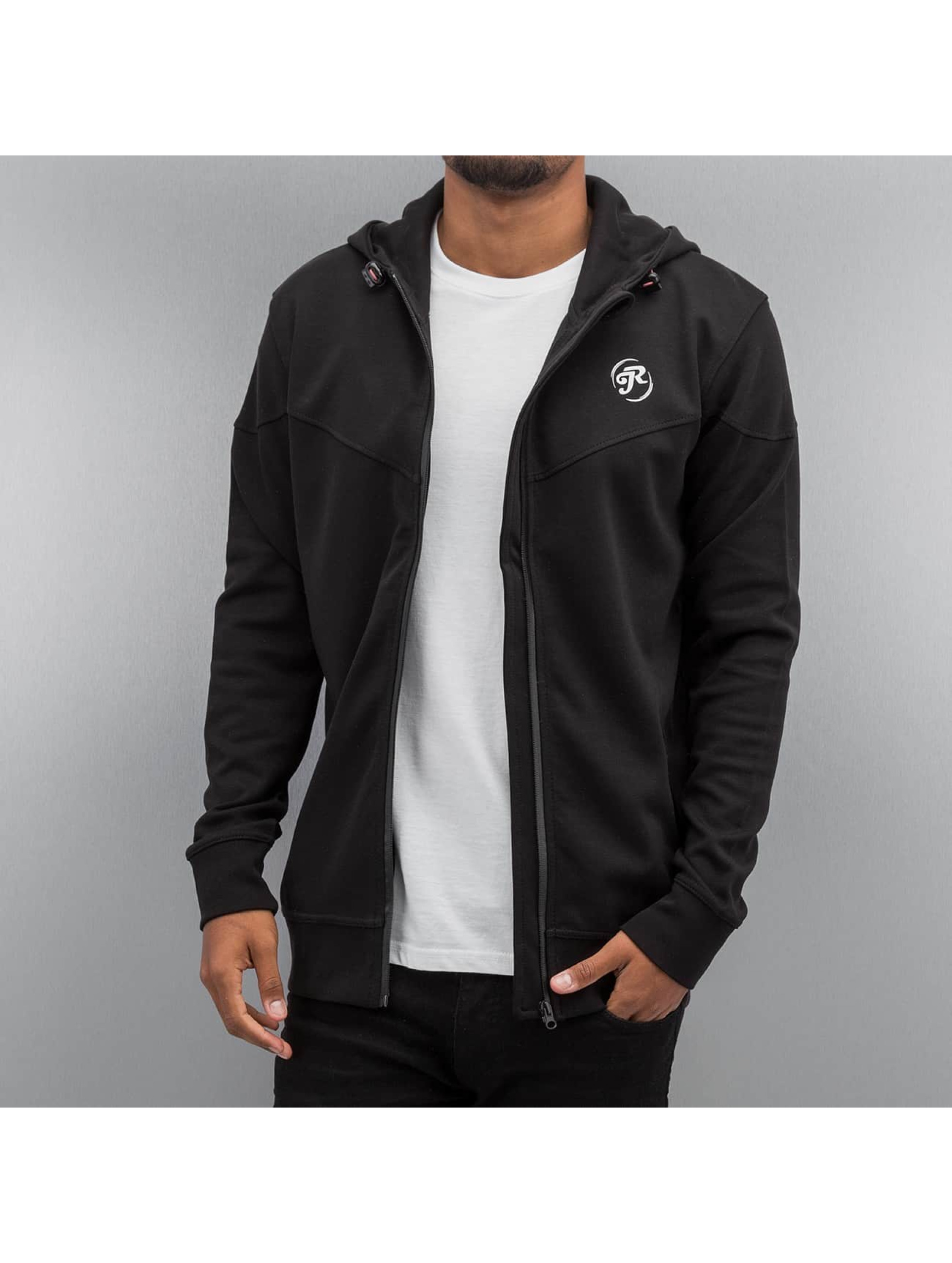 Just Rhyse Sweat capuche zippé Wind noir