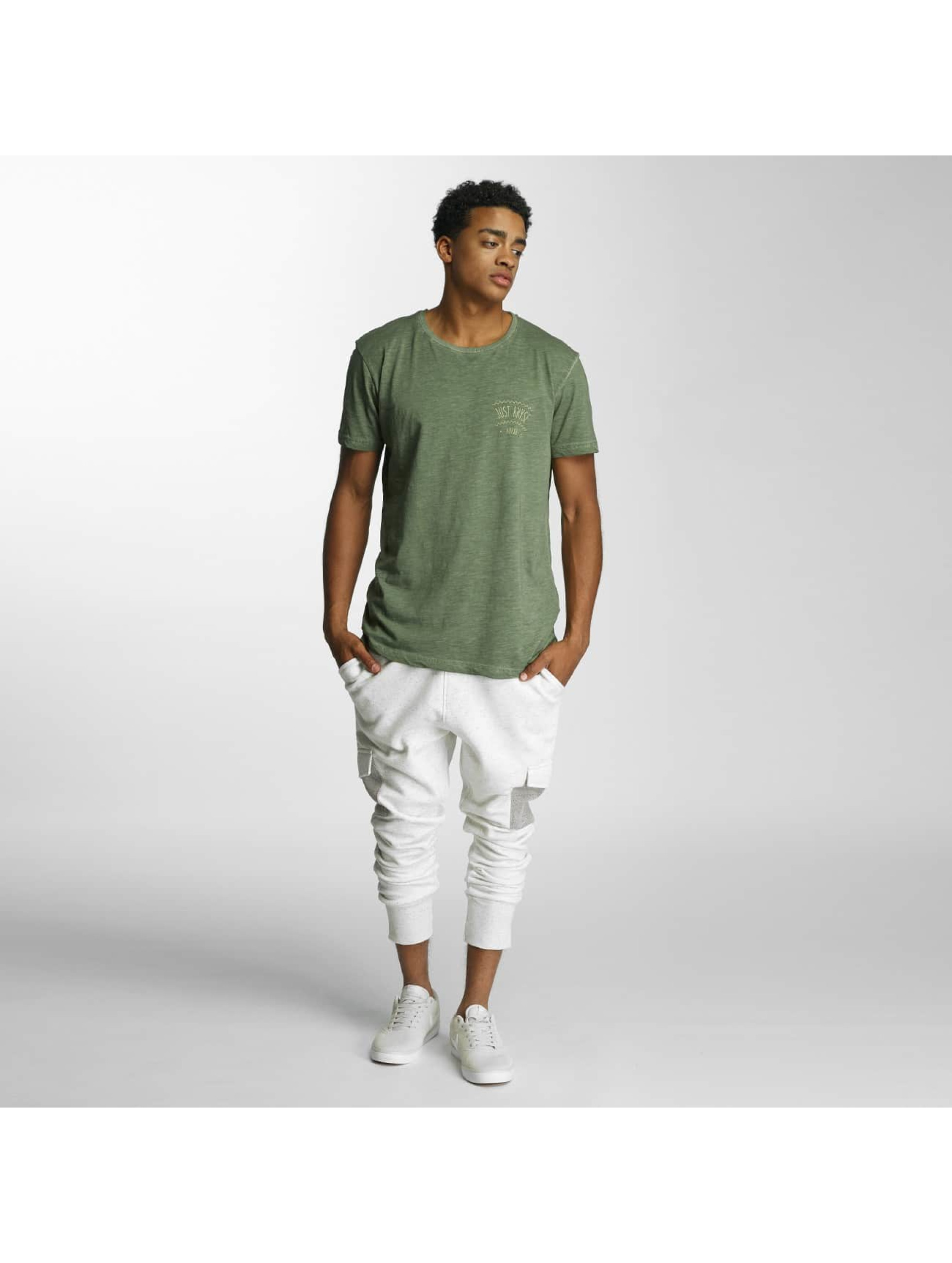 Just Rhyse Sweat Pant Ocean Park white