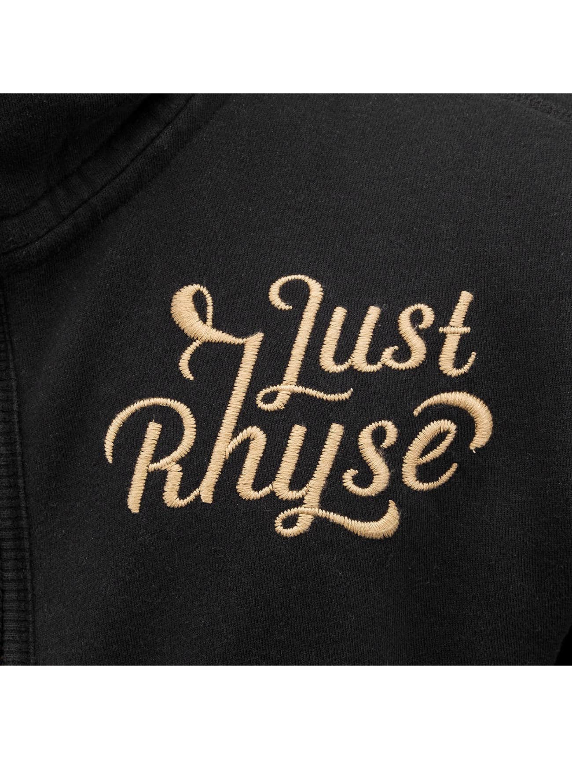 Just Rhyse Sweatvest Big zwart