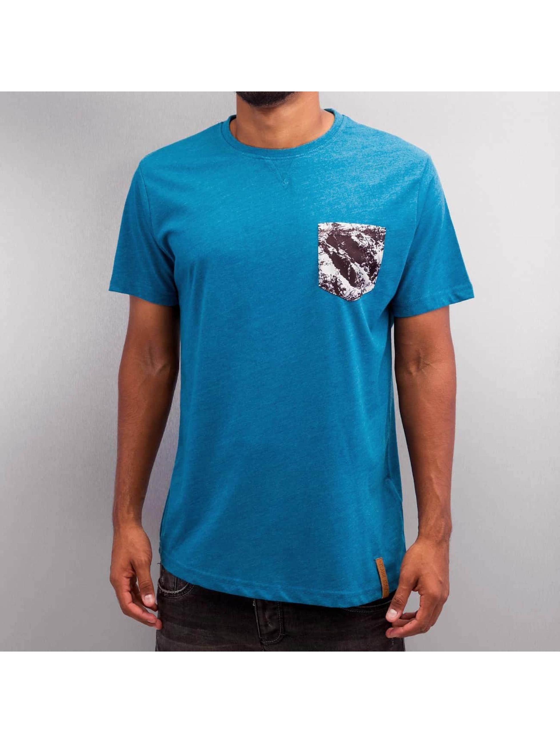 Just Rhyse T-shirt Hoimar blå