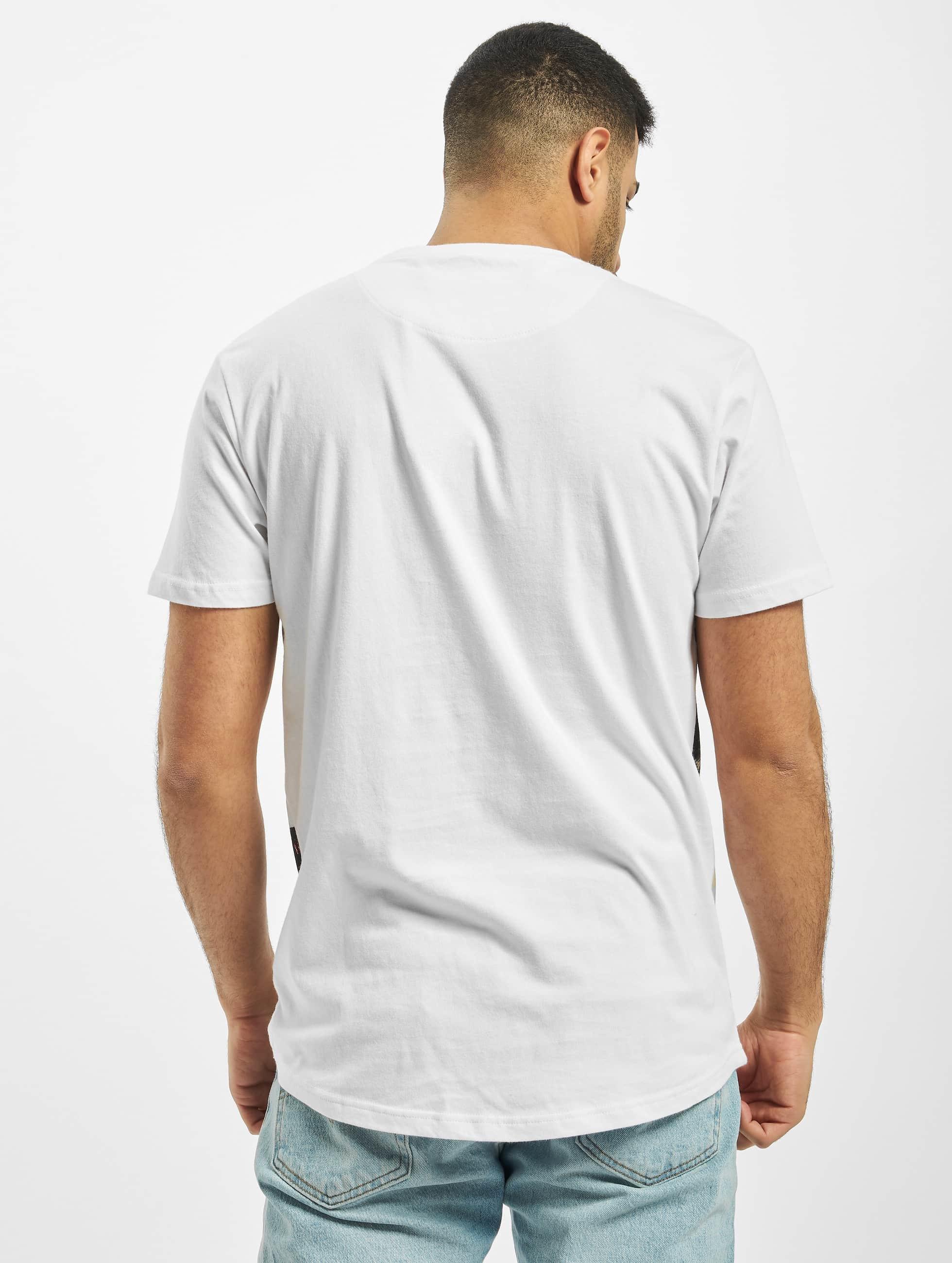 Just Rhyse T-Shirt Oliver blanc