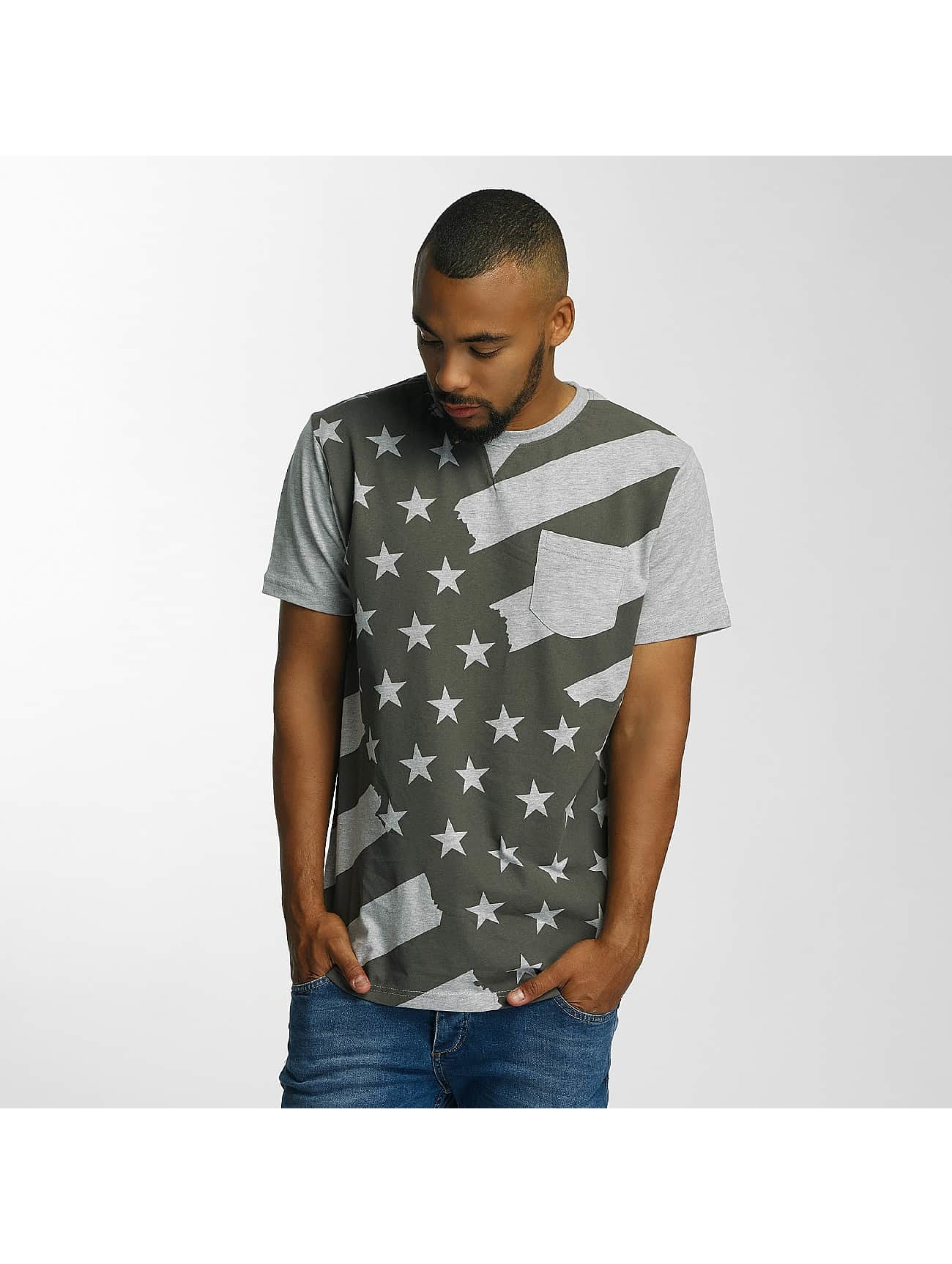 Just Rhyse T-Shirt Meadow Lakes grey