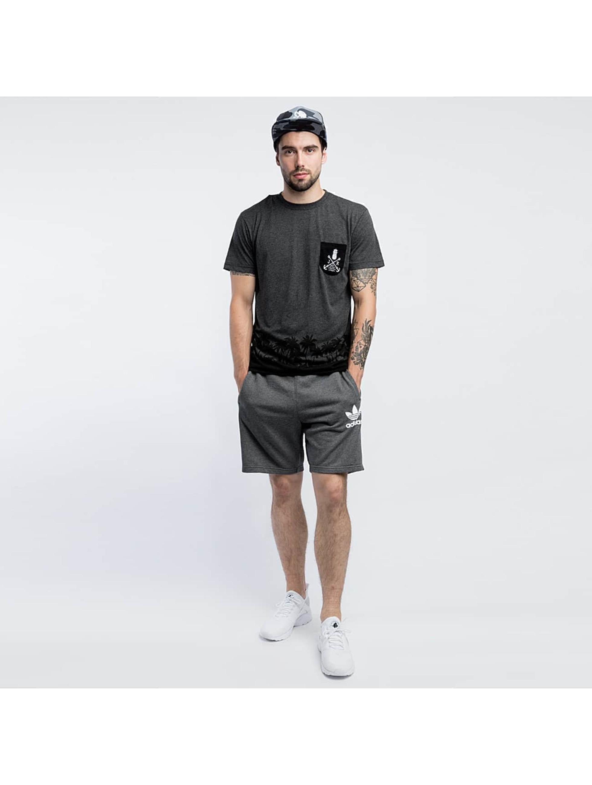 Just Rhyse t-shirt Beach grijs