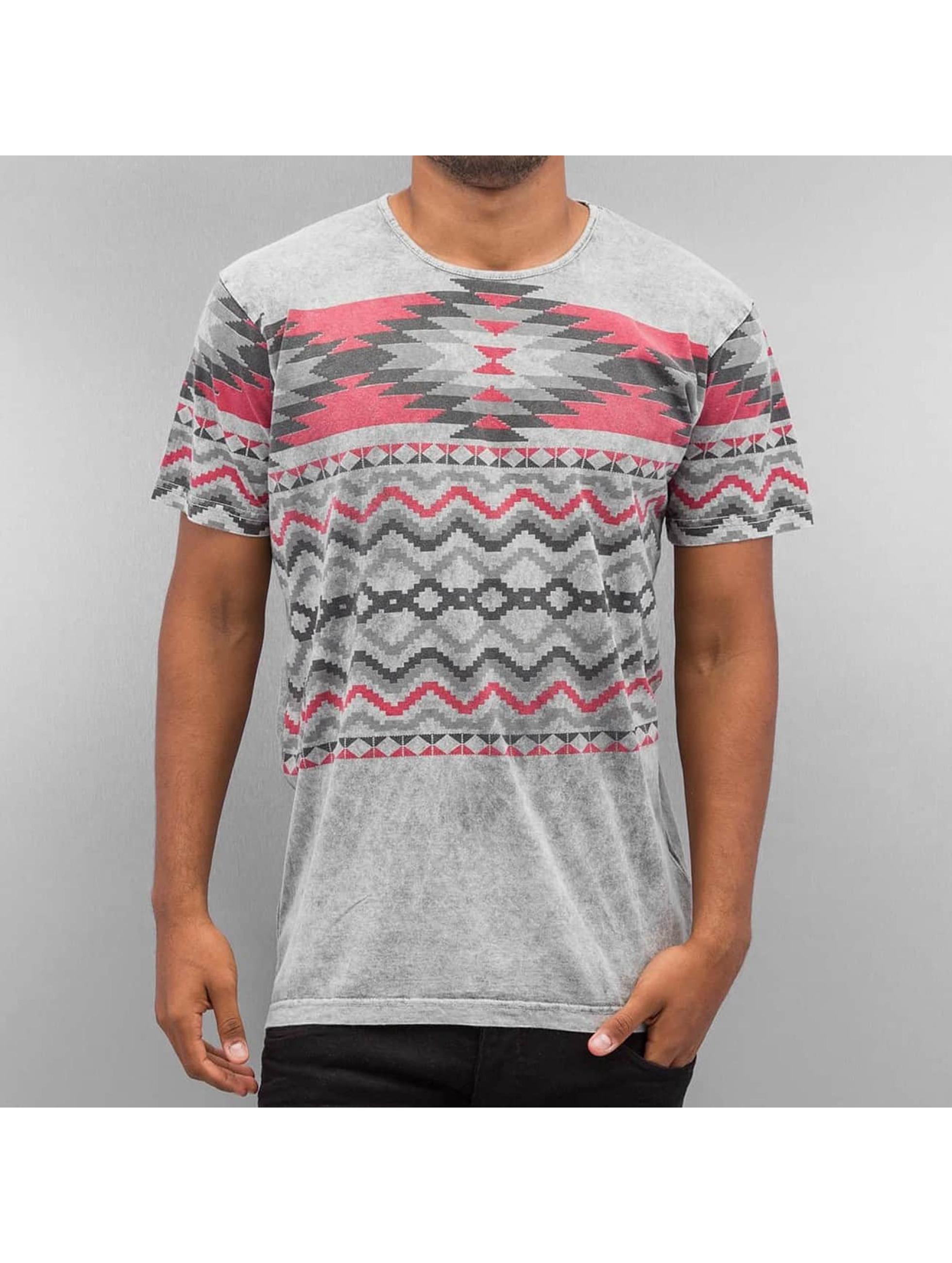 Just Rhyse T-Shirt Pattern II gris