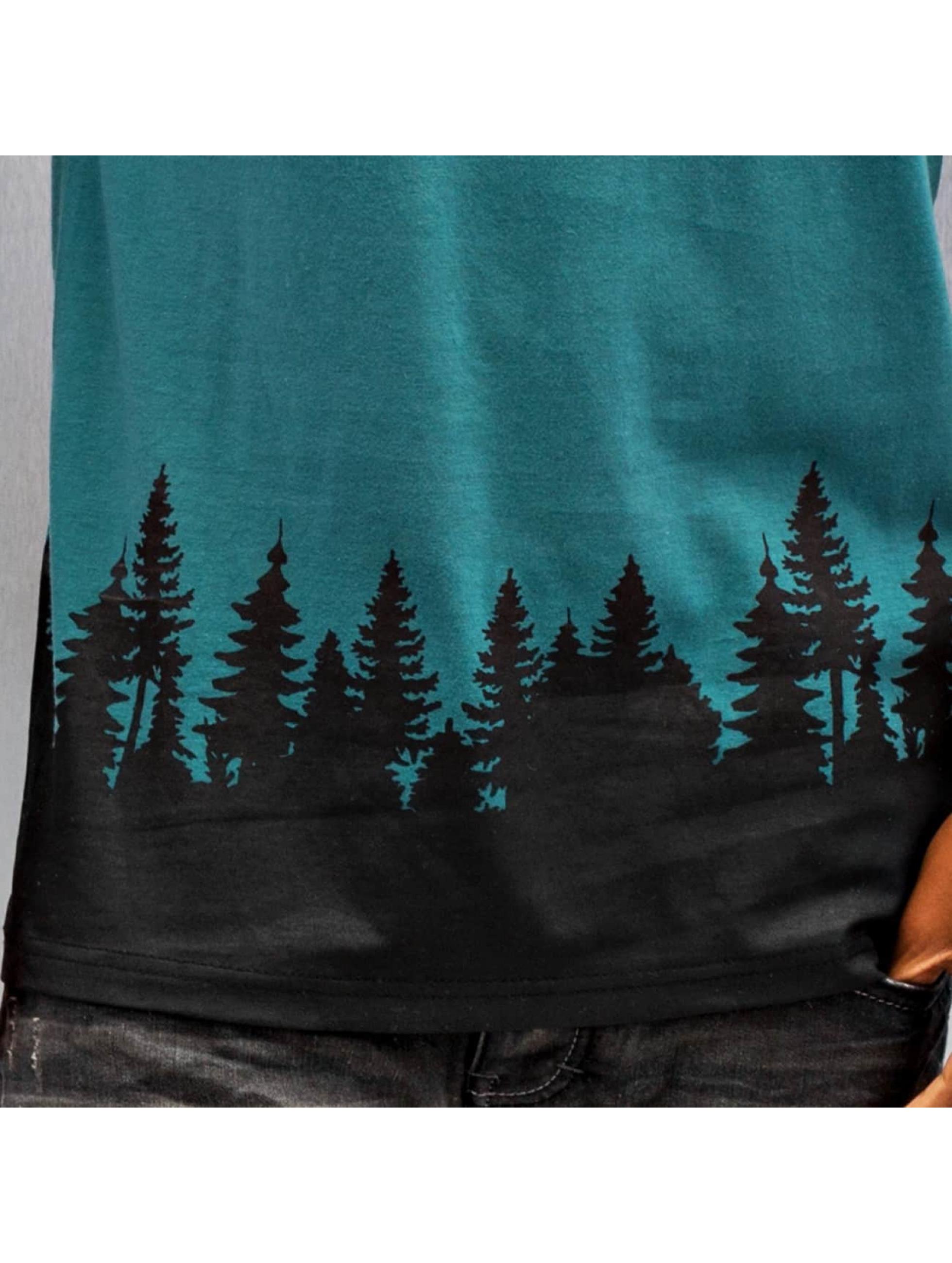 Just Rhyse t-shirt Wood groen