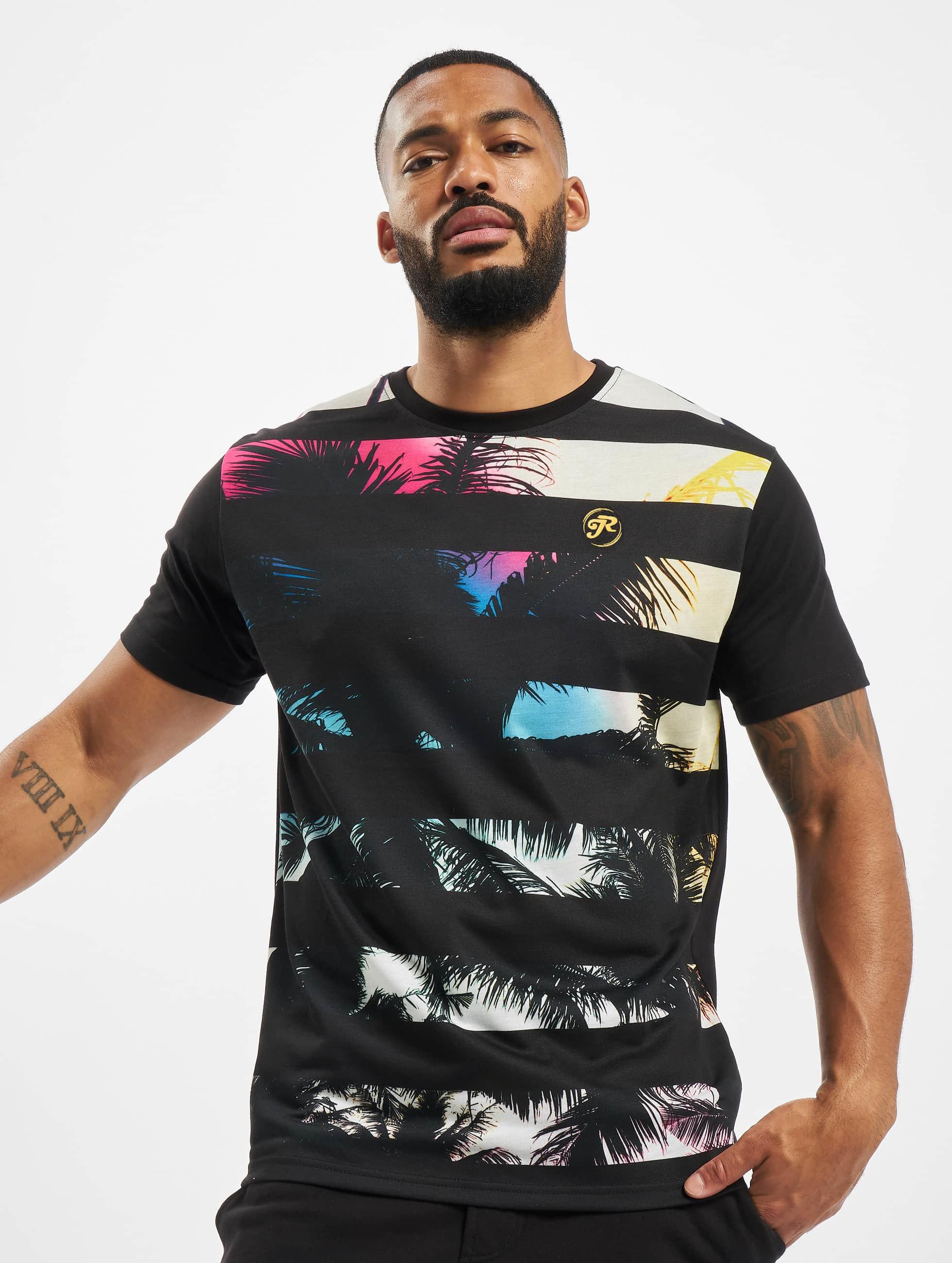 Just Rhyse T-Shirt Beach II noir