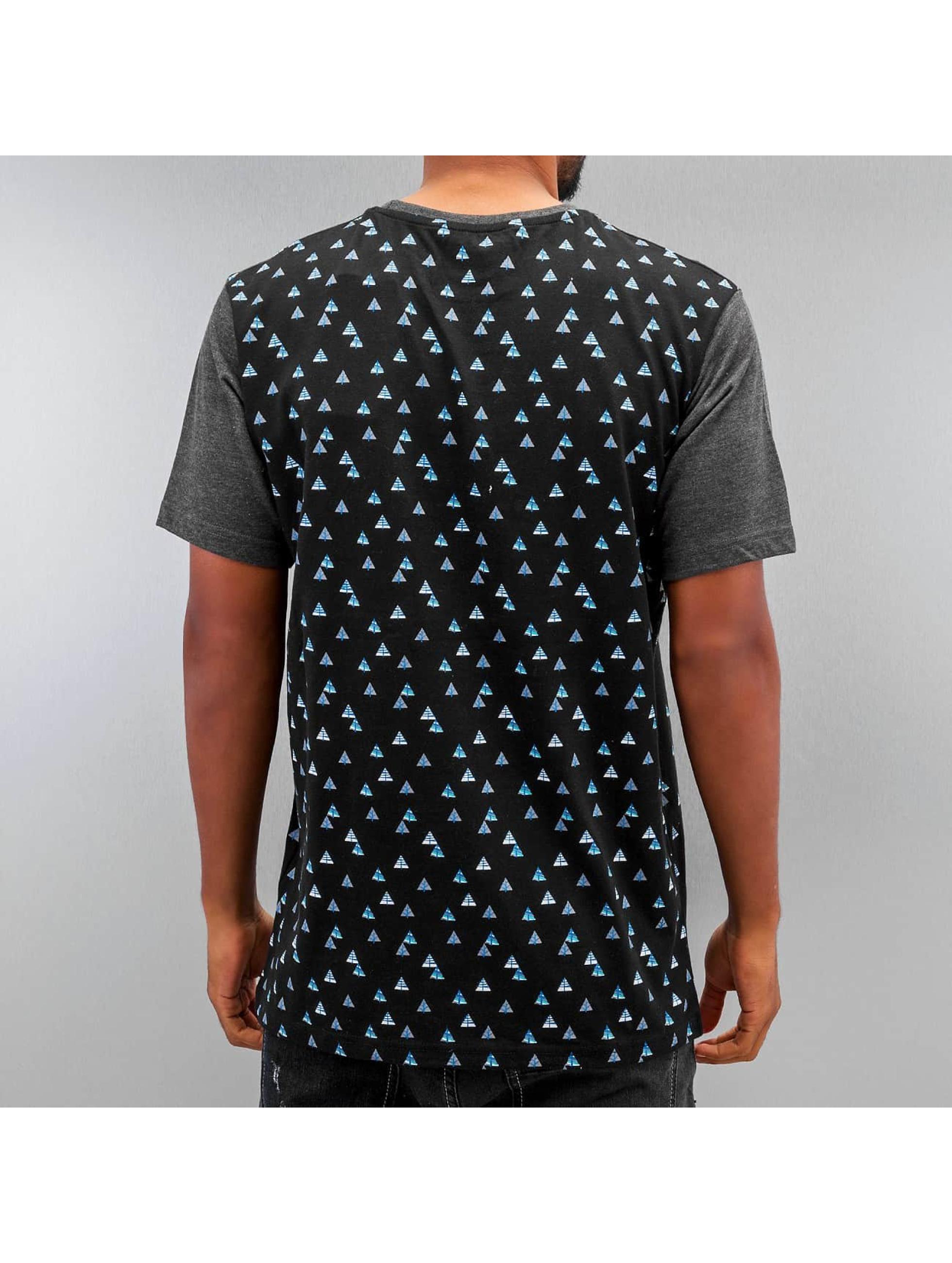 Just Rhyse T-shirt Fir svart
