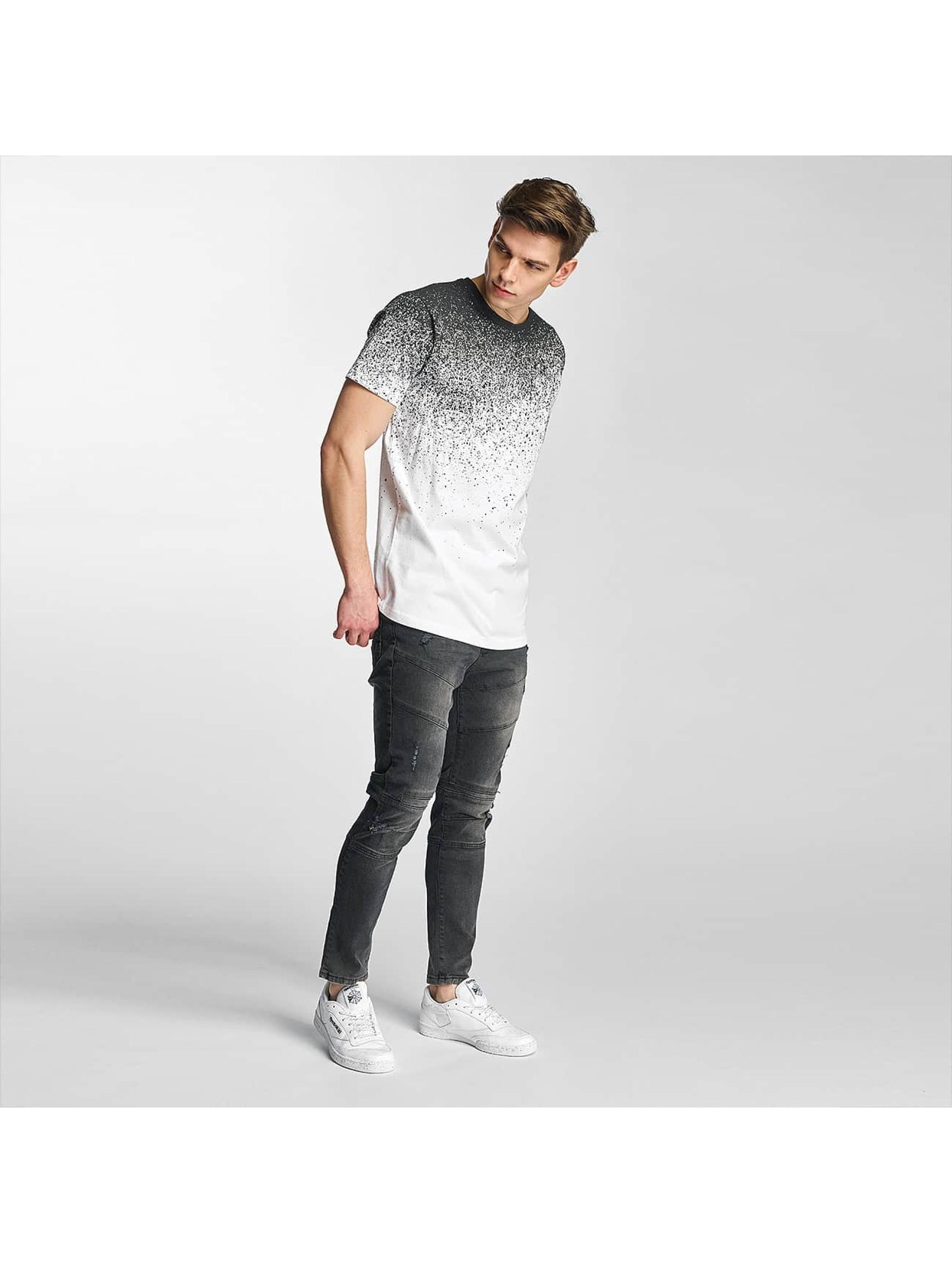 Just Rhyse T-Shirt Splashes weiß