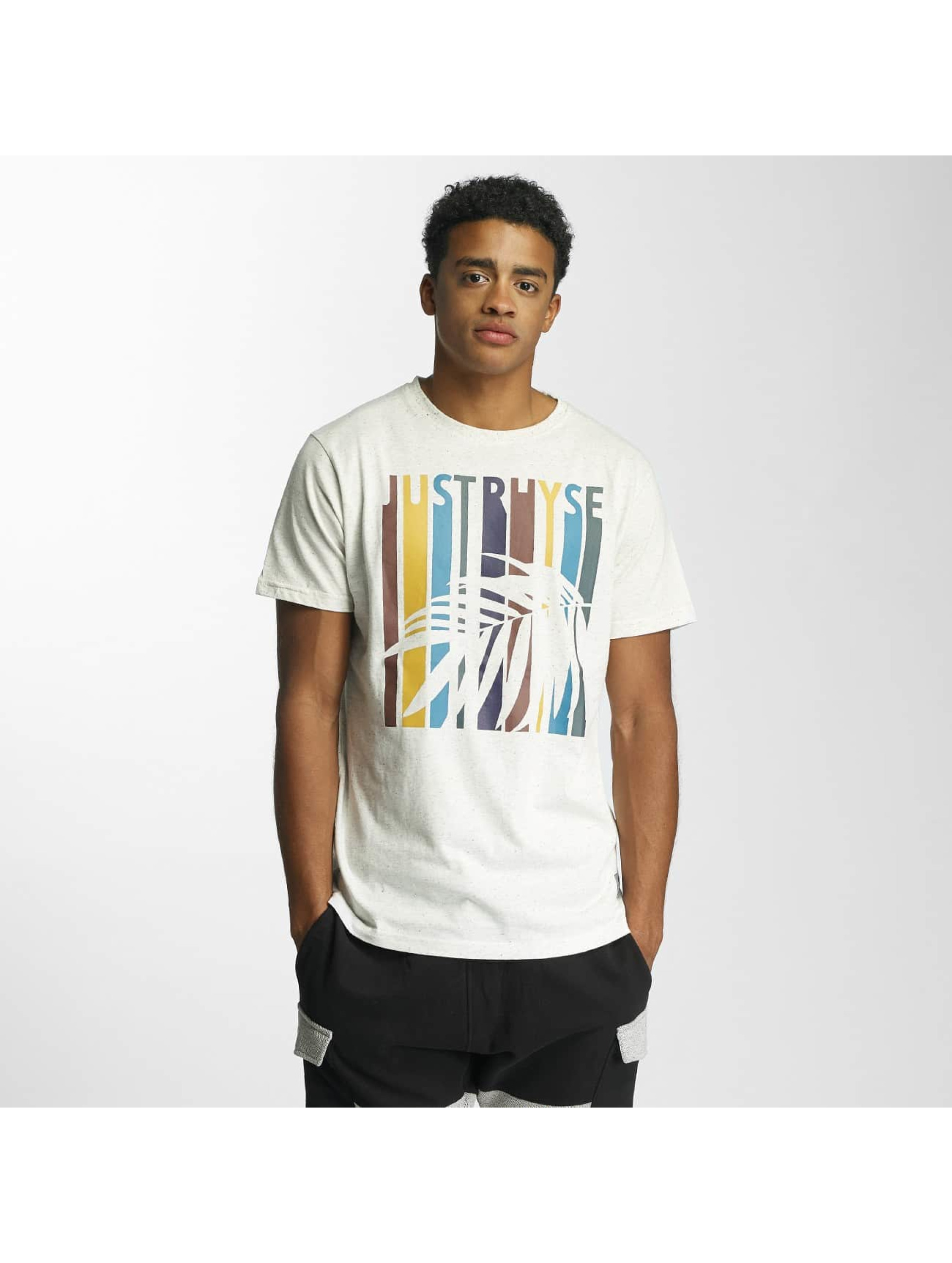 Just Rhyse T-Shirt Palm Springs white