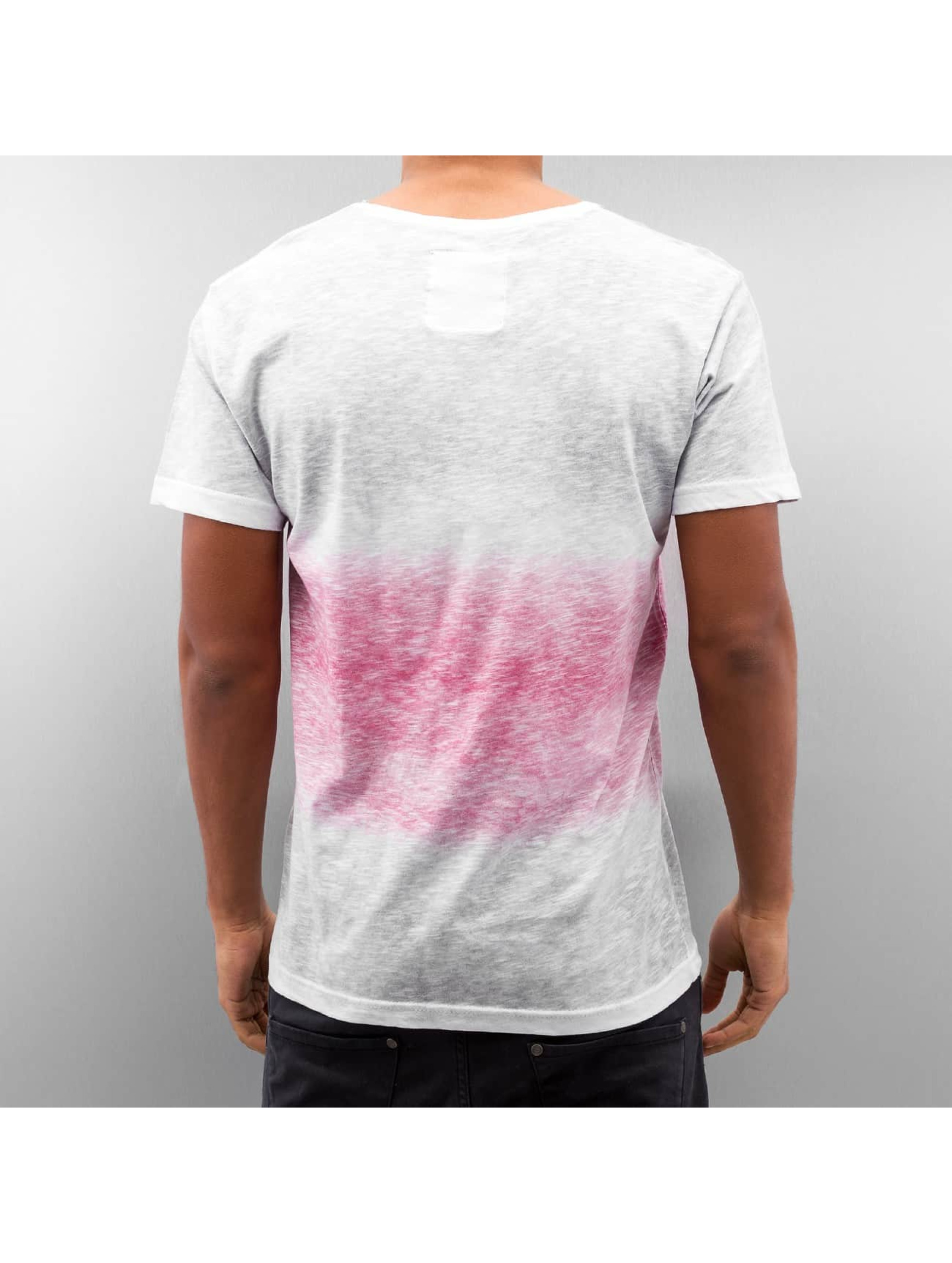 Just Rhyse T-Shirty Melange bialy