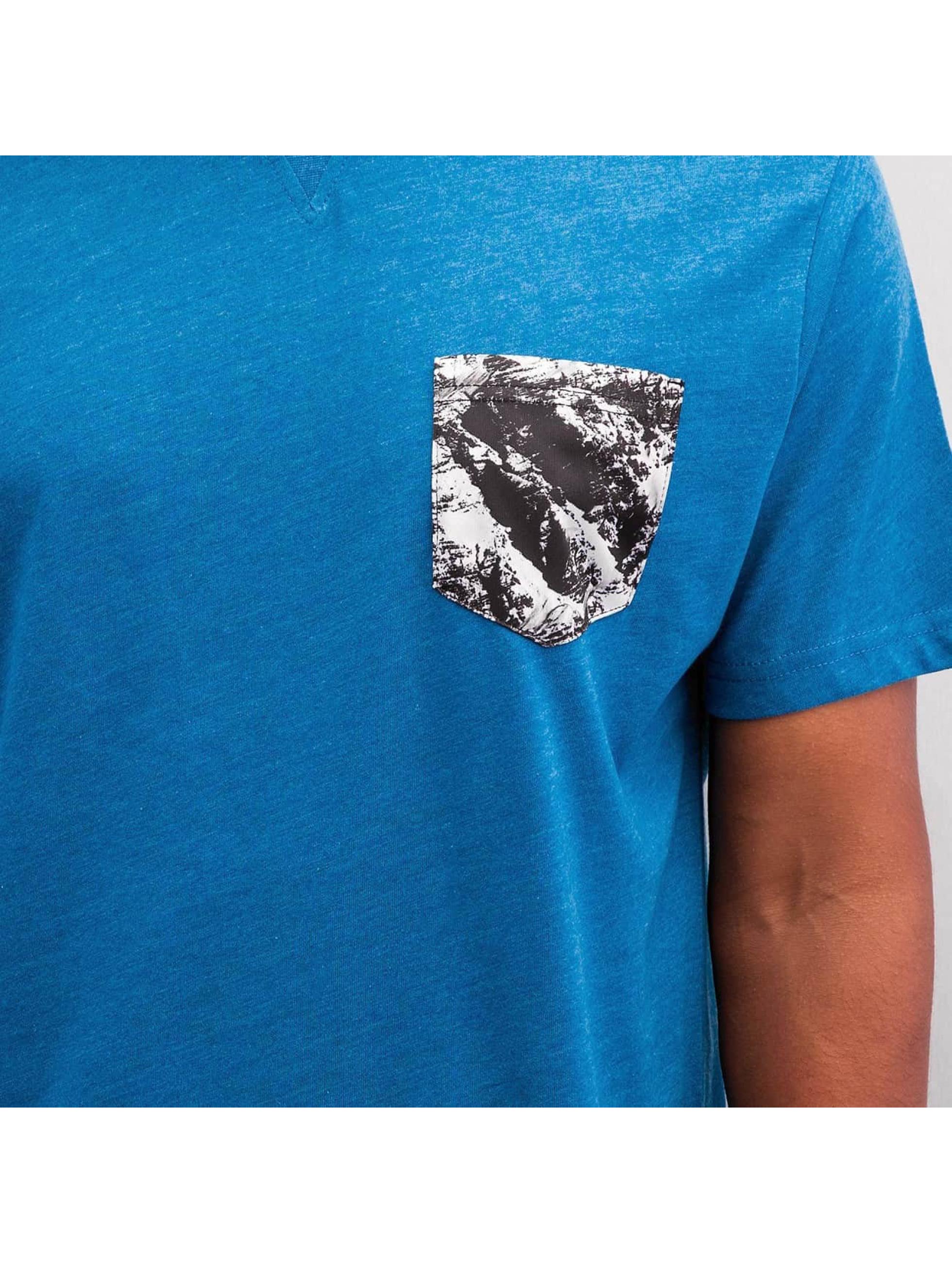 Just Rhyse T-Shirty Hoimar niebieski