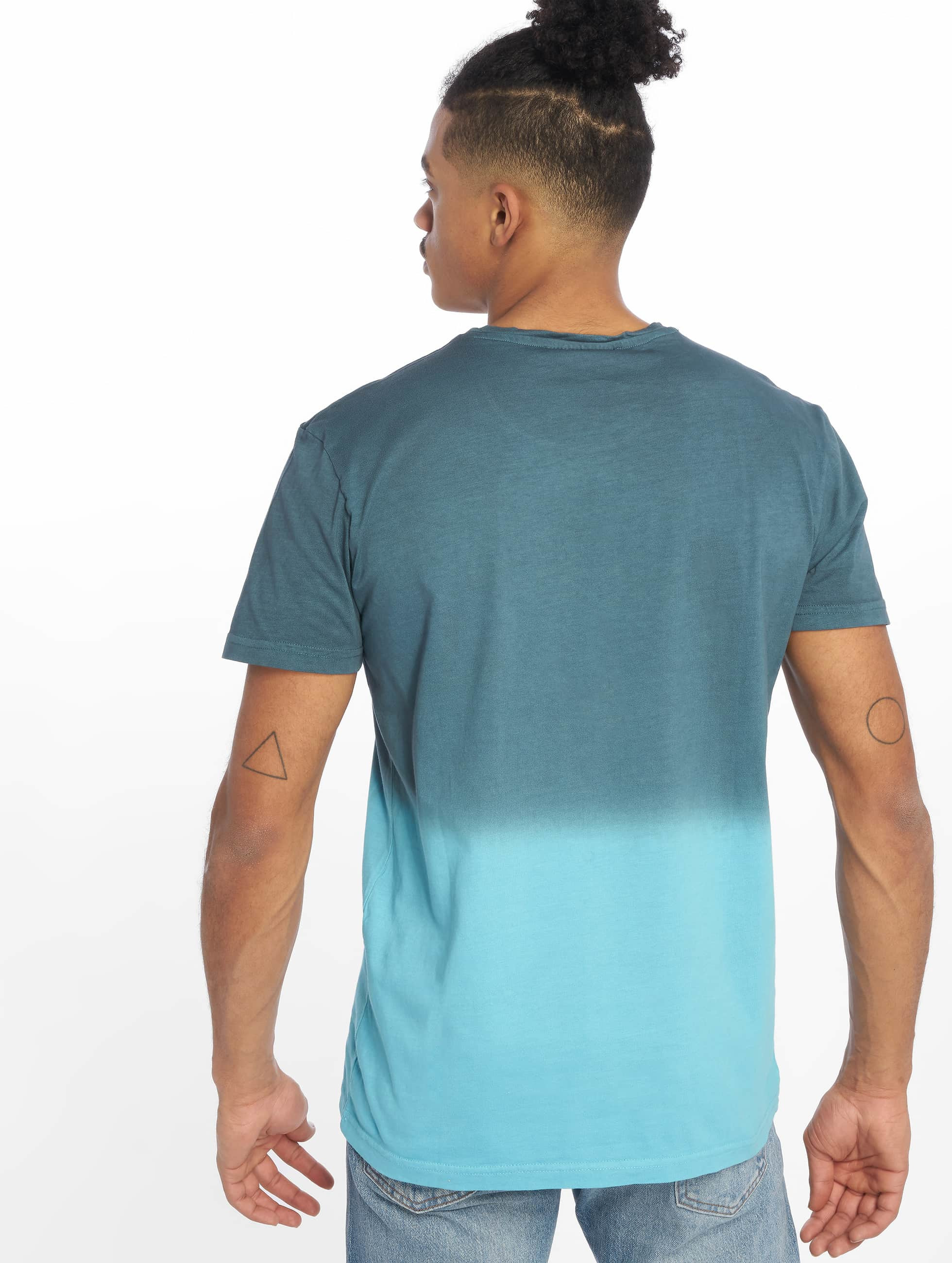Just Rhyse T-Shirty Two Tone niebieski