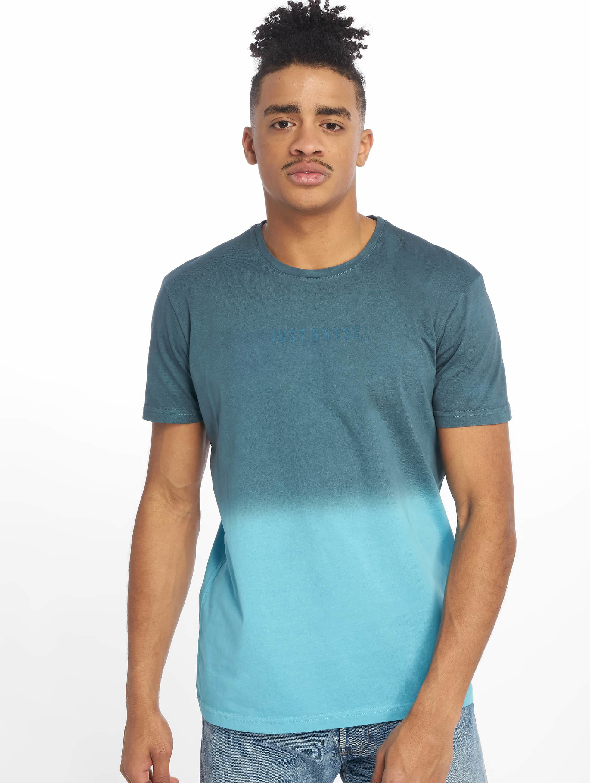 Just Rhyse T-Shirty Two Tone niebieski