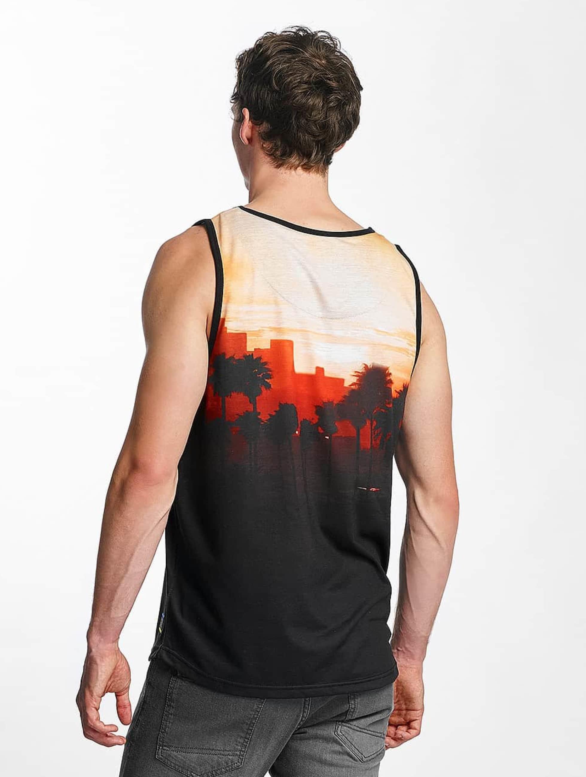 Just Rhyse Tank Tops Goleta oranžová