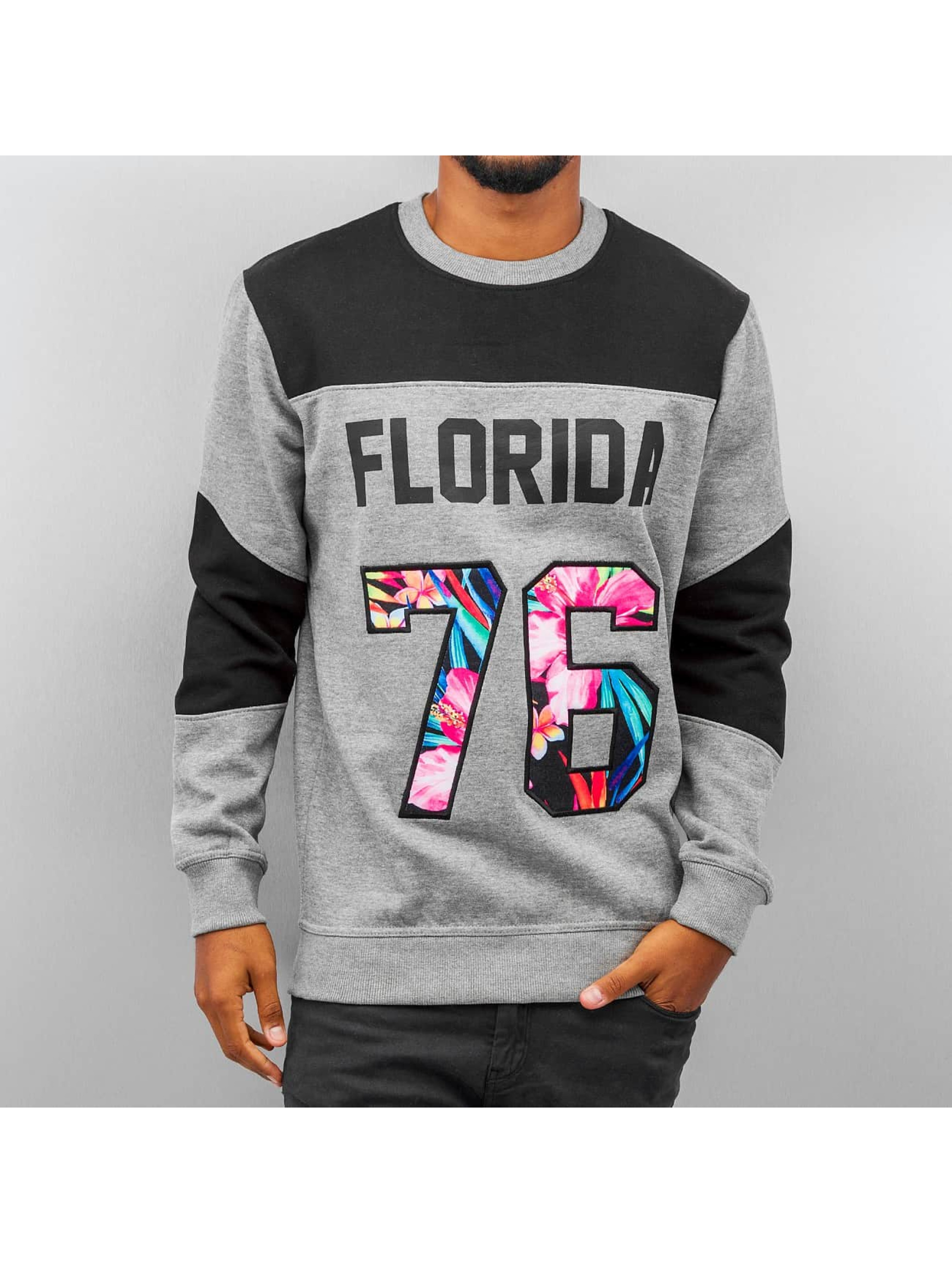 Just Rhyse trui Florida grijs