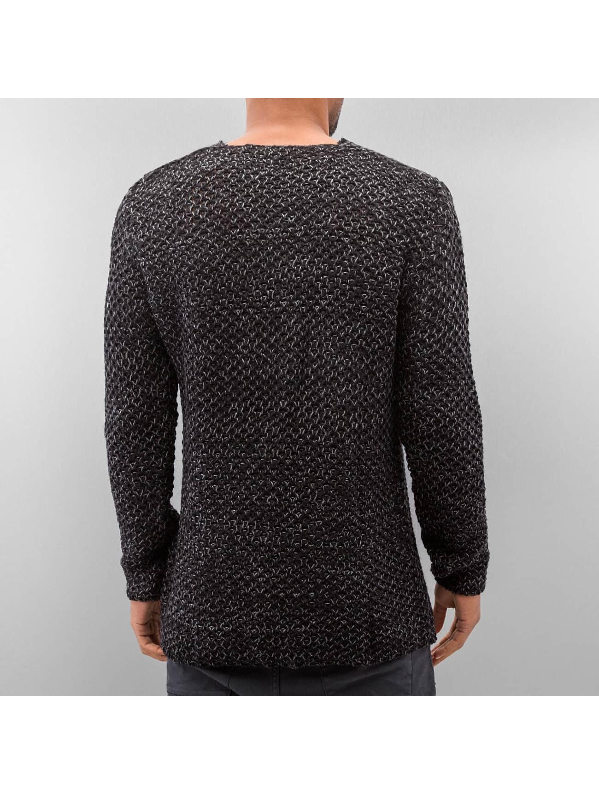 Just Rhyse trui Knit zwart