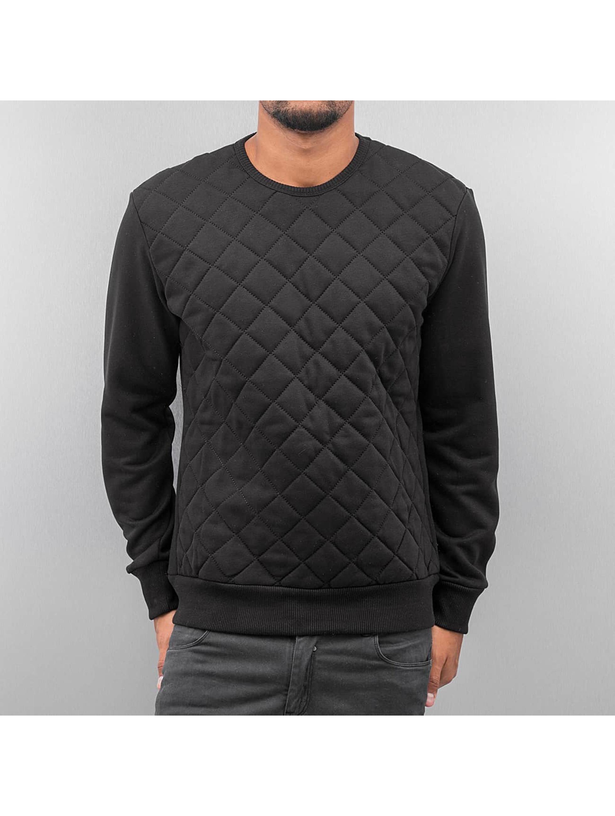 Just Rhyse trui Quilt Two zwart