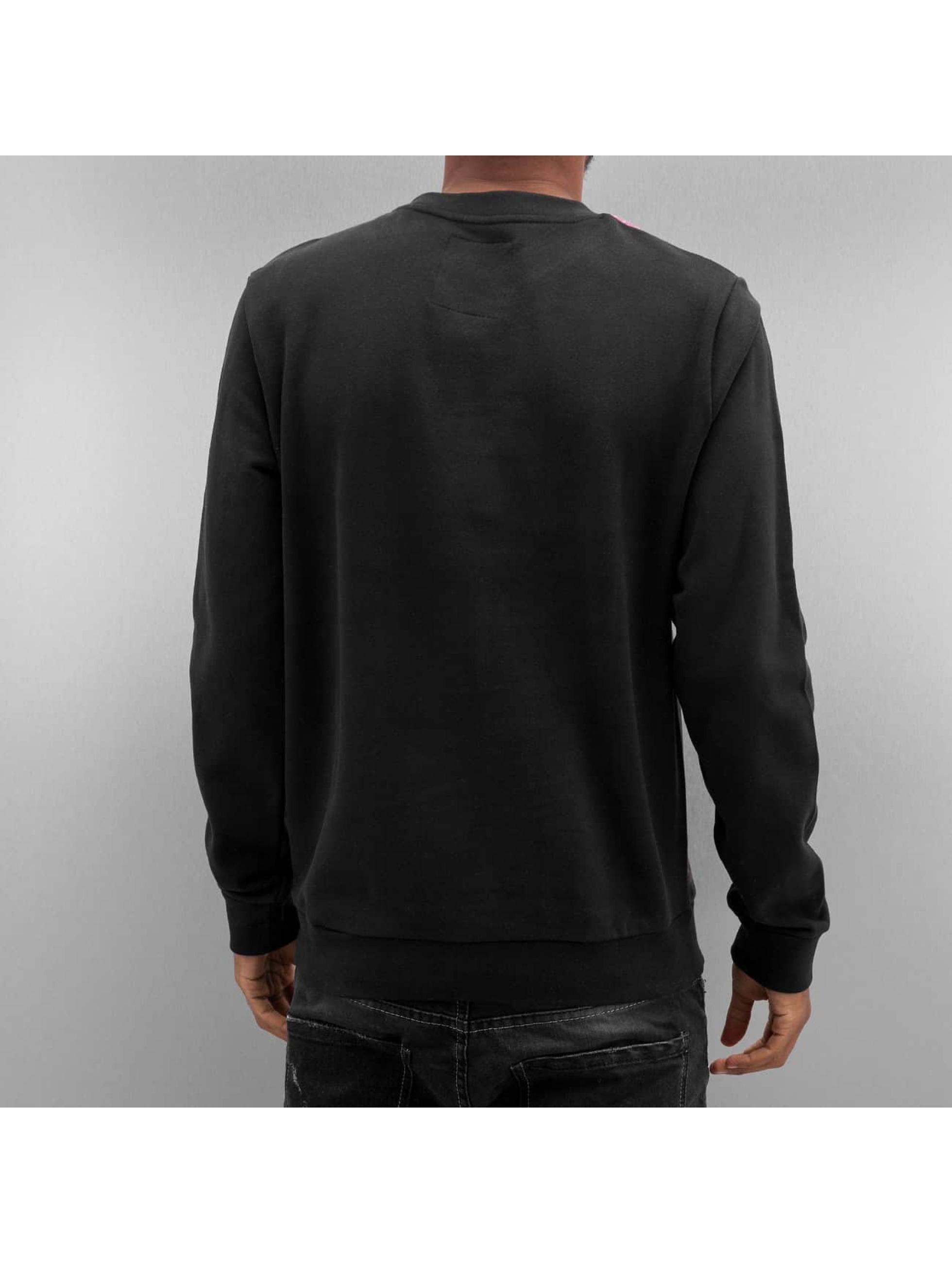 Just Rhyse trui Skyline zwart
