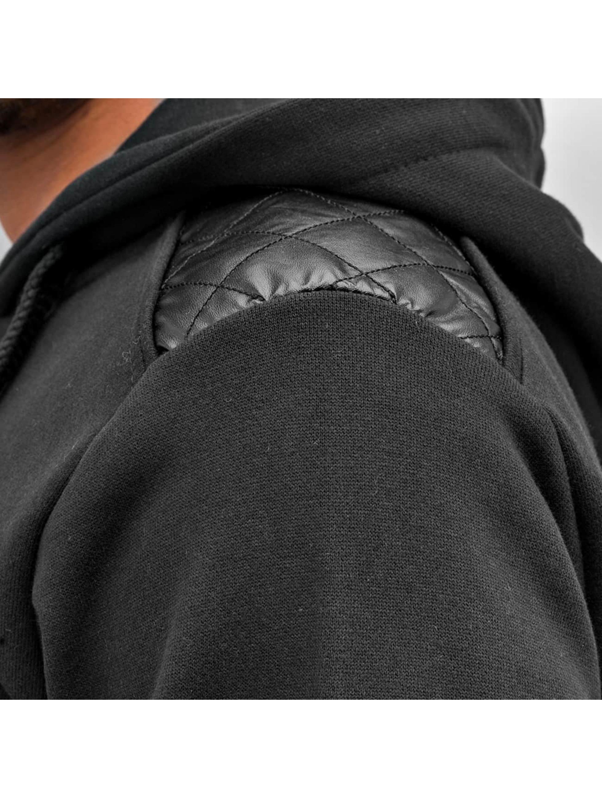 Just Rhyse Vetoketjuhupparit Pocket musta