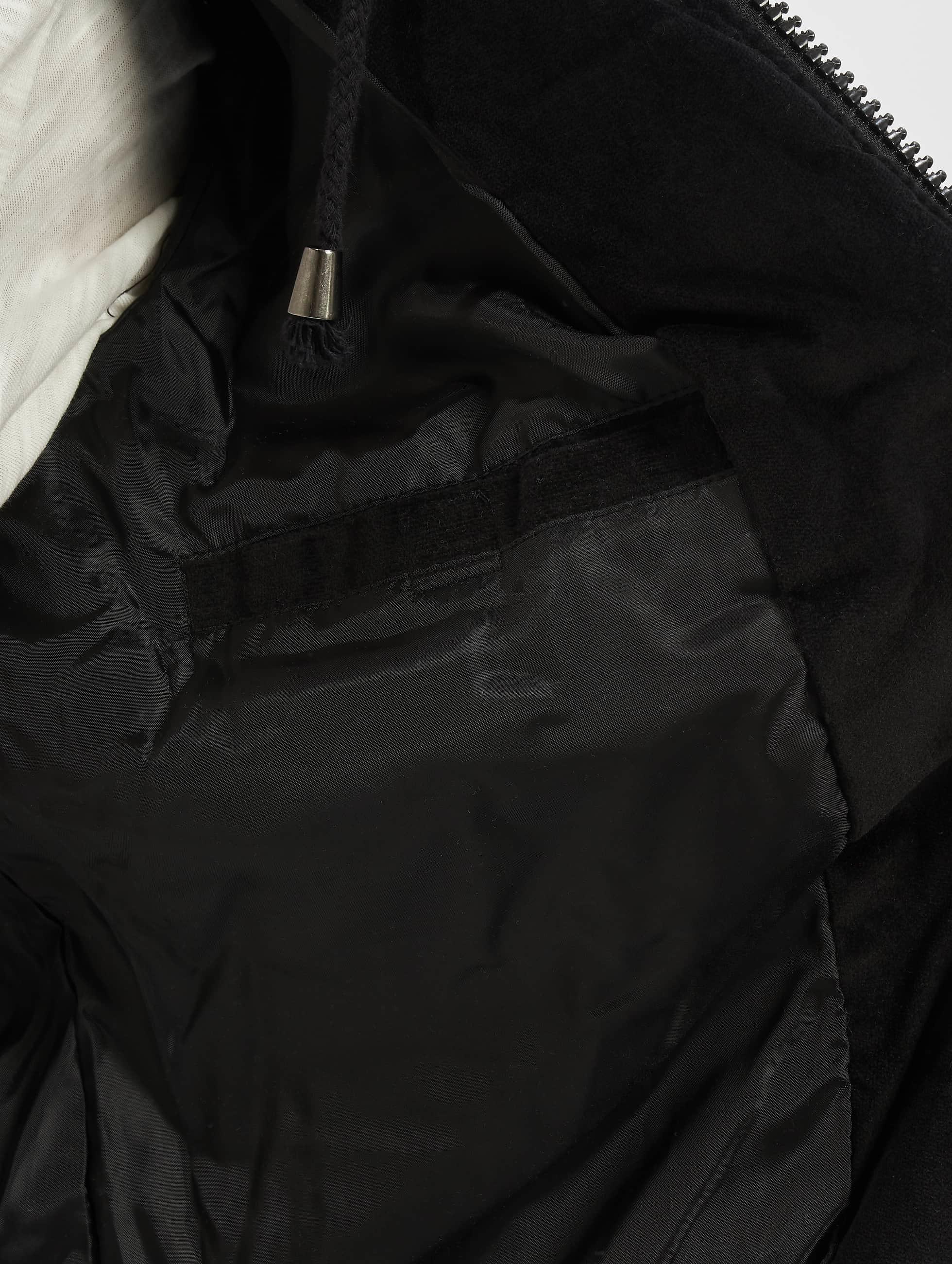 Just Rhyse winterjas Quilted zwart