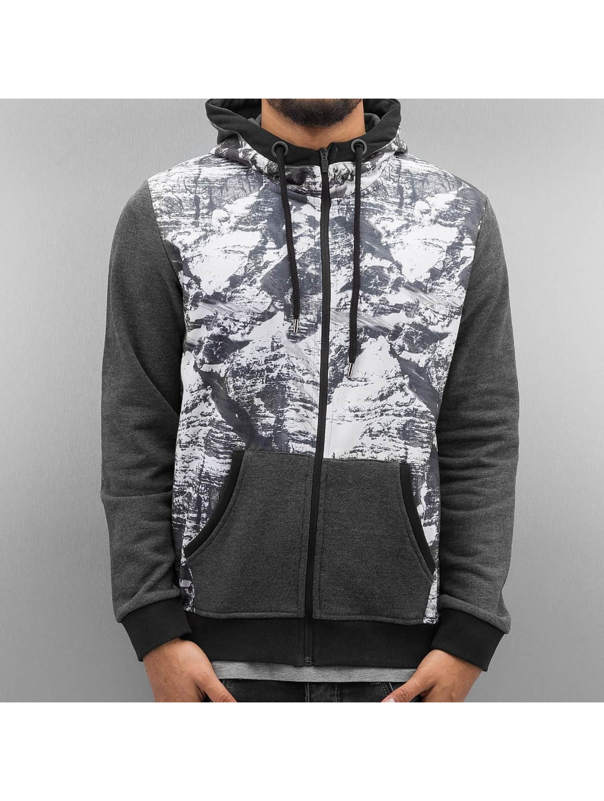 Just Rhyse Zip Hoodie Mountains gray