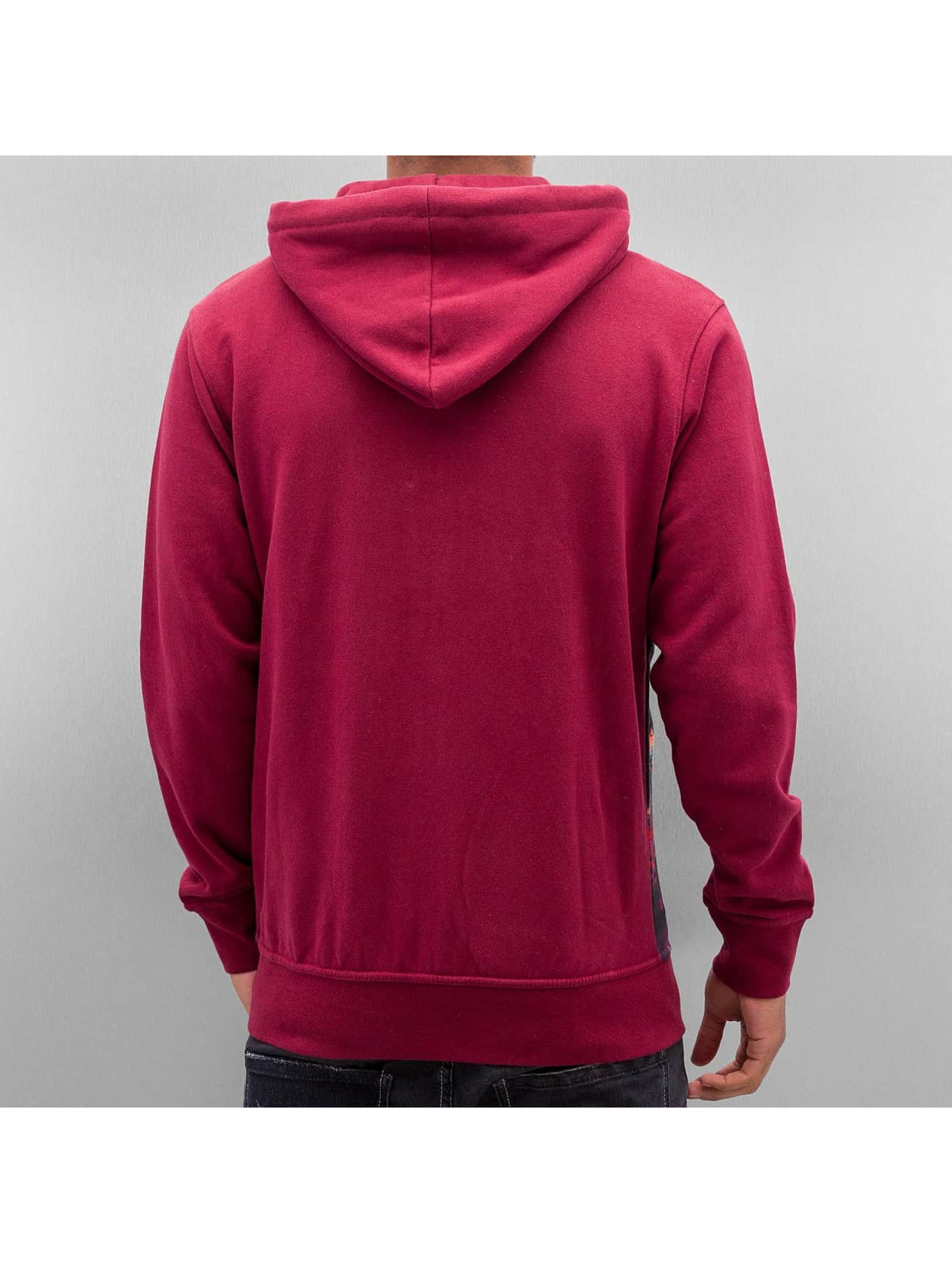 Just Rhyse Zip Hoodie Lights red