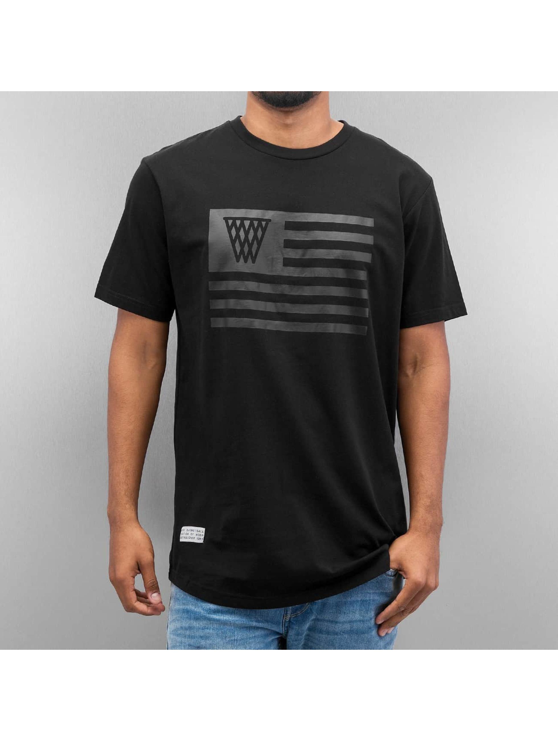 K1X Футболка Monochrome Flag черный