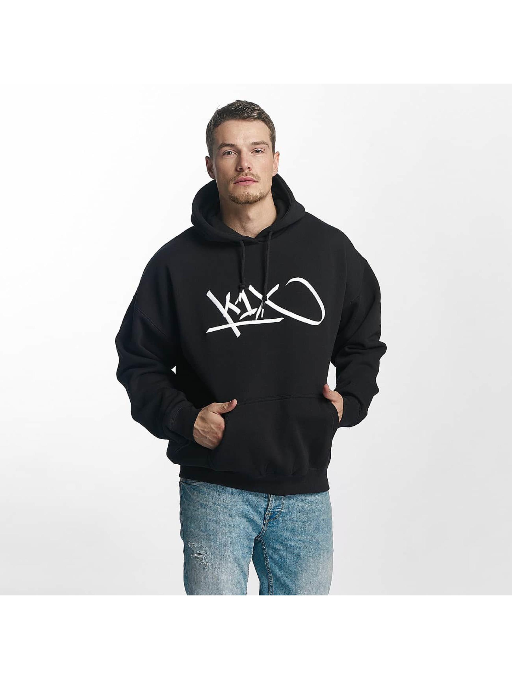 K1X Bluzy z kapturem Ivey Sports Tag niebieski
