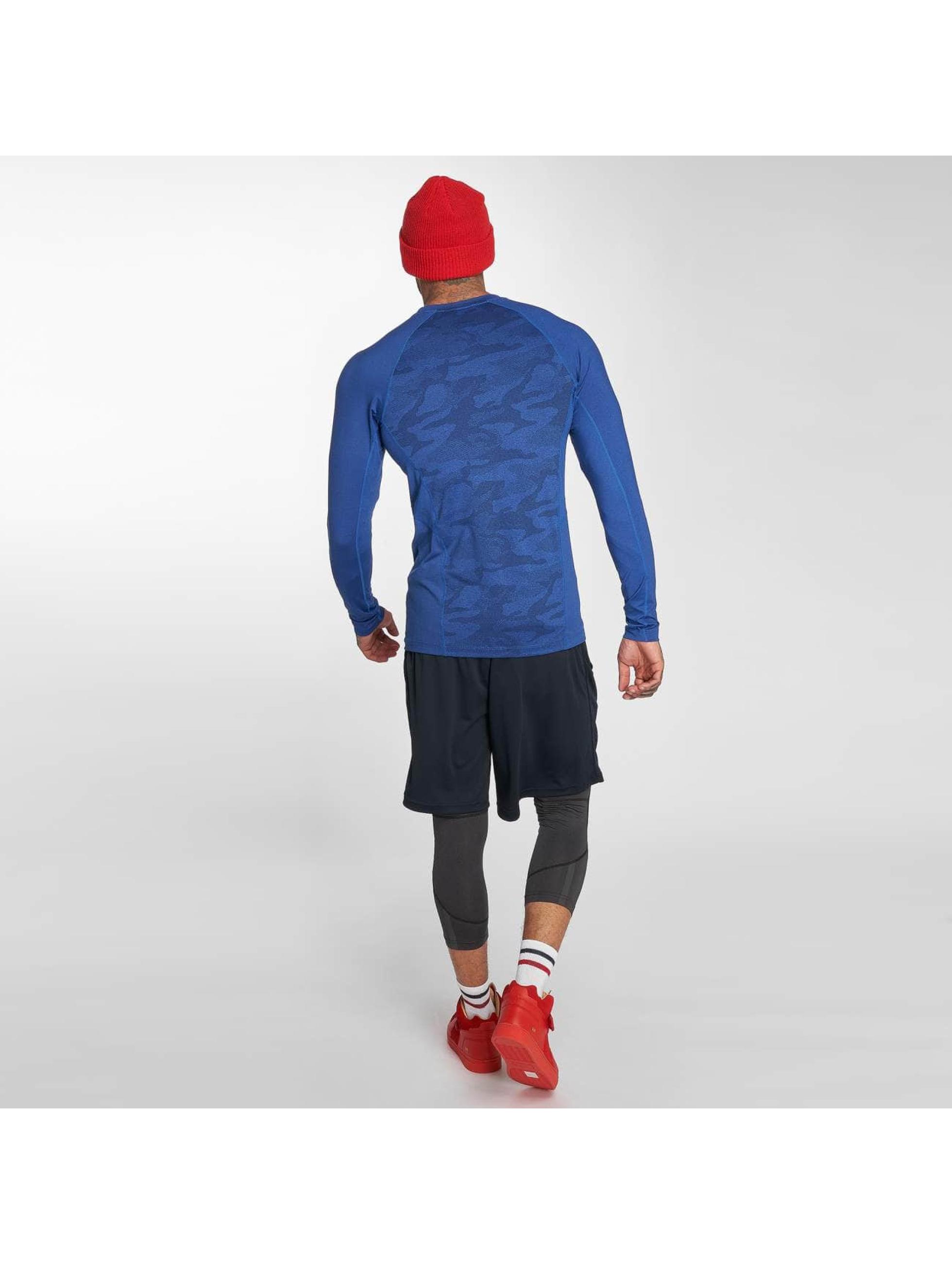 K1X Core T-Shirt manches longues Compression bleu