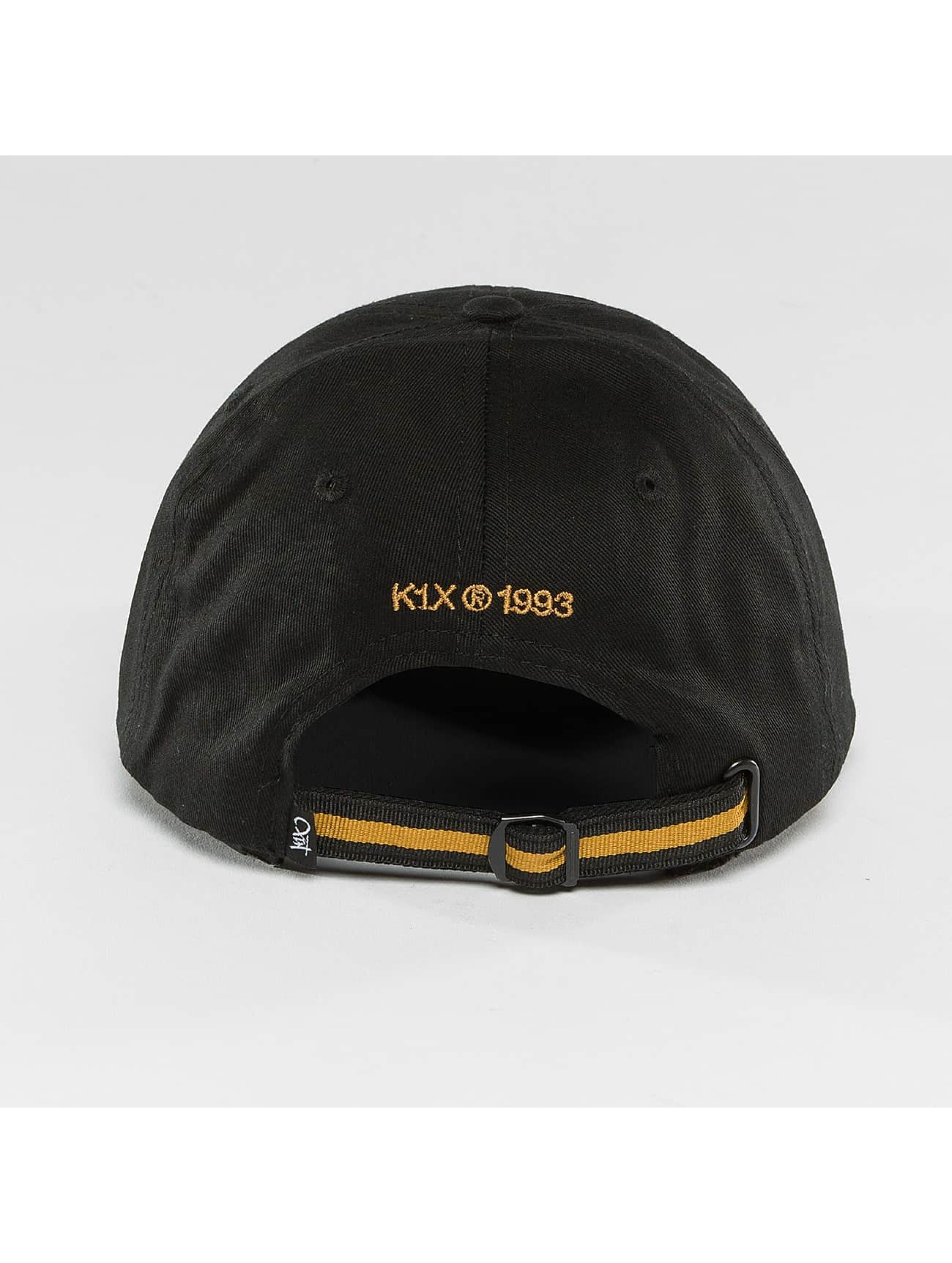 K1X Snapback Cap Play Hard Basketball Sports black