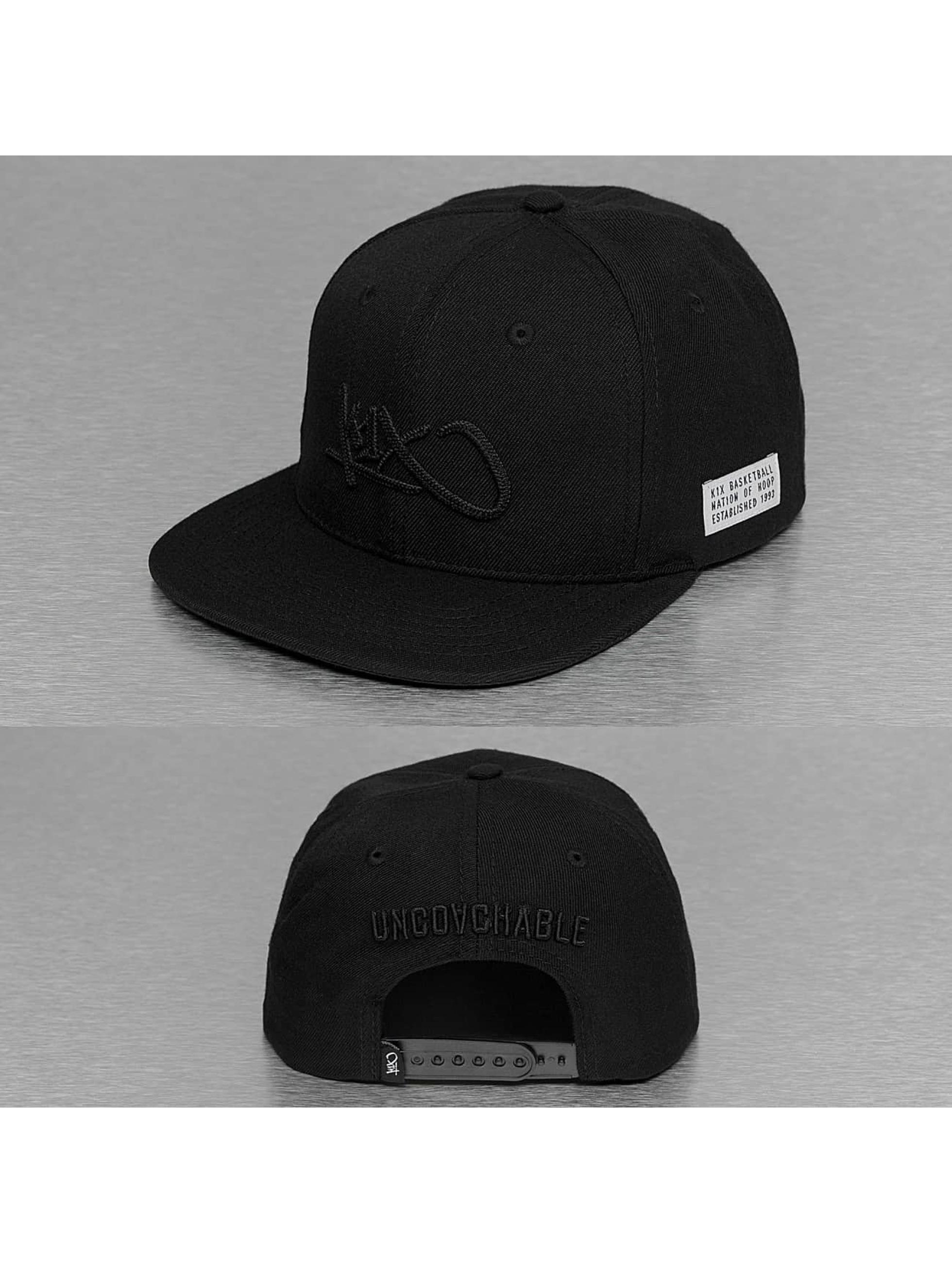 K1X snapback cap Tag Mono zwart