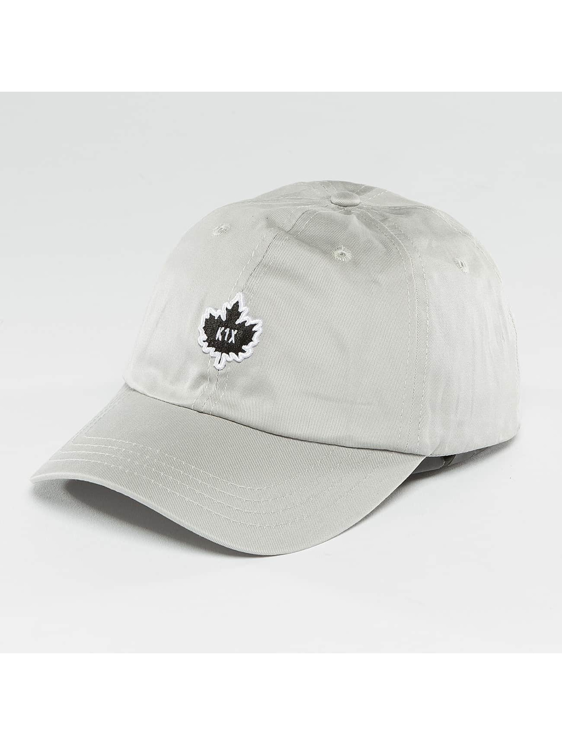 K1X Snapback Caps Crest Sports grå