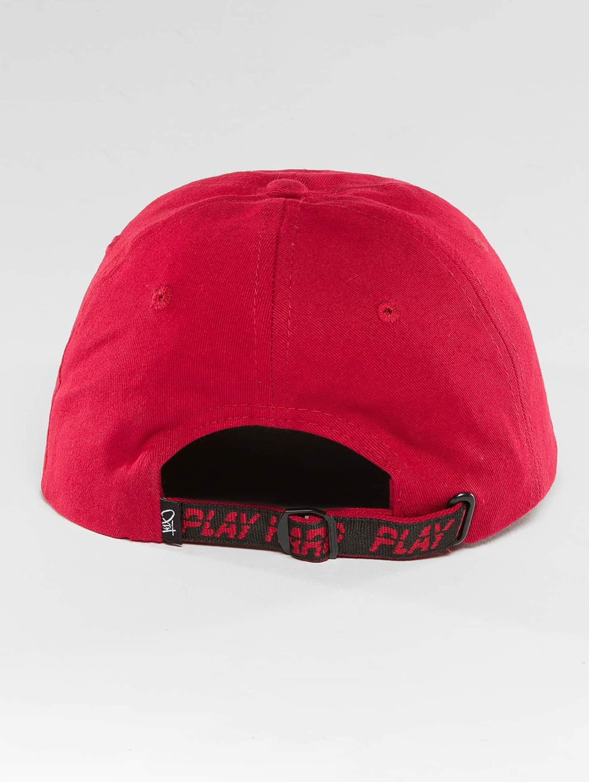 K1X Snapback Caps Crest Sports punainen