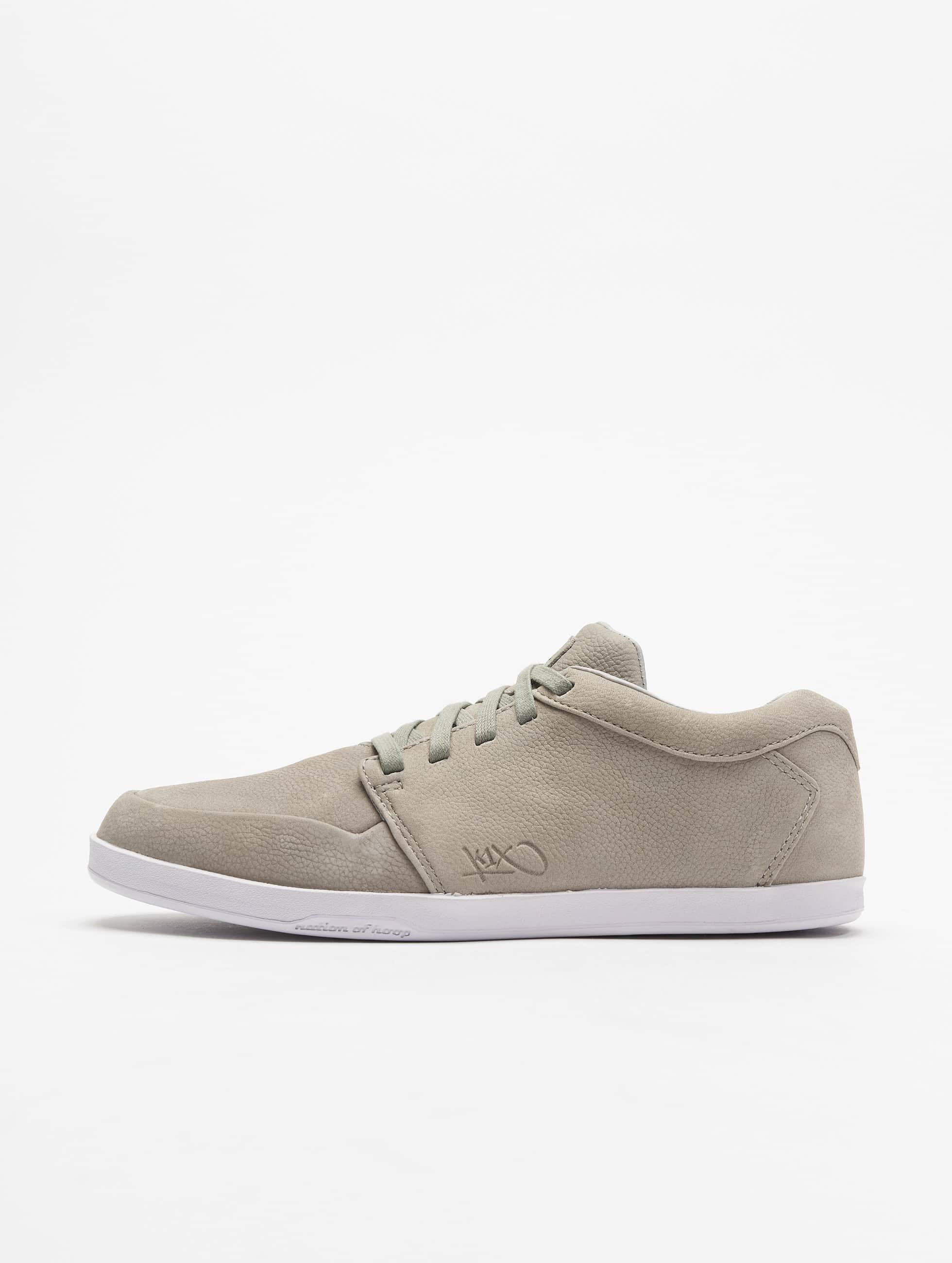 K1X sneaker LP Low Leather grijs