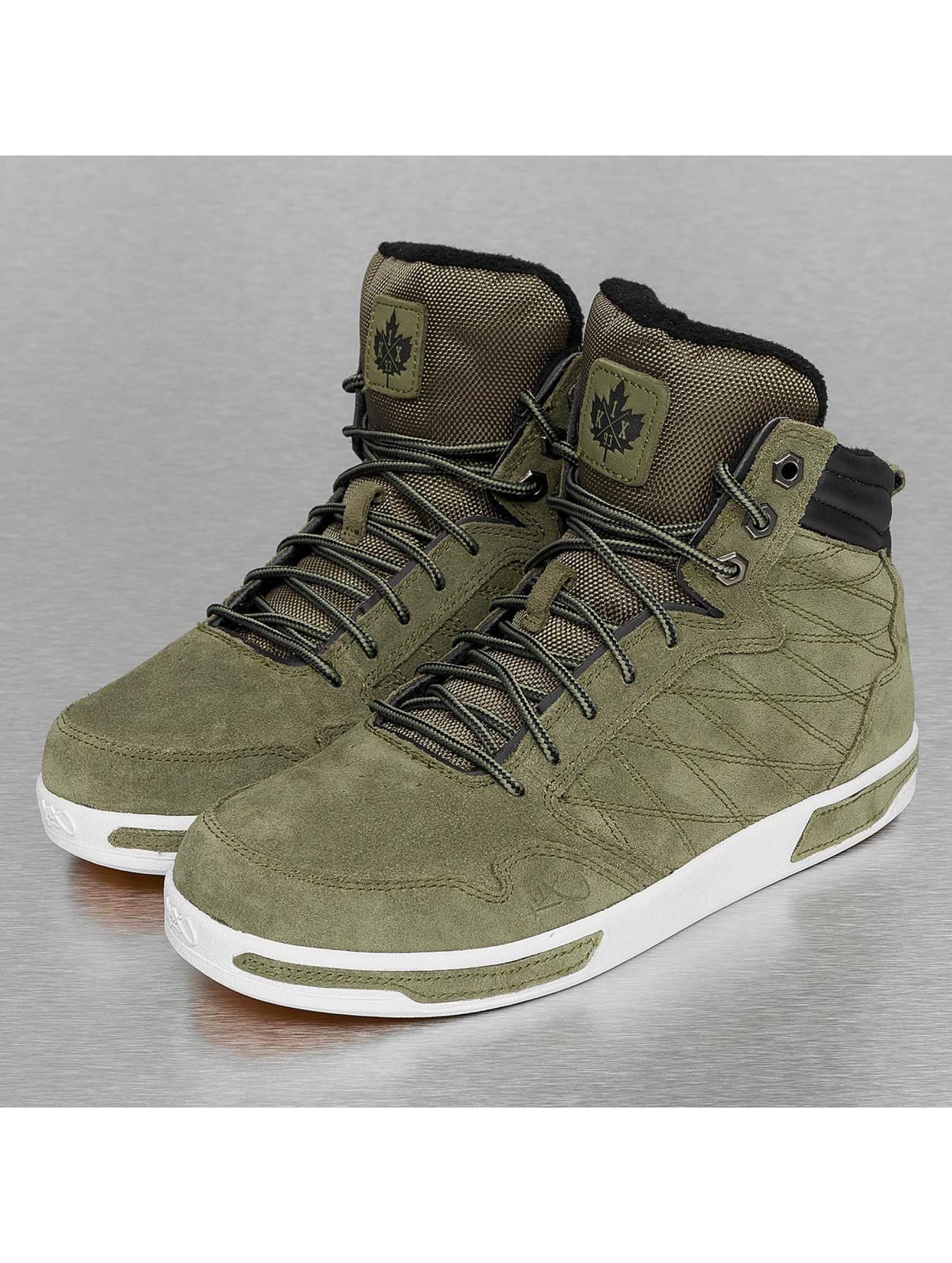 K1X schoen / sneaker H1top in olijfgroen