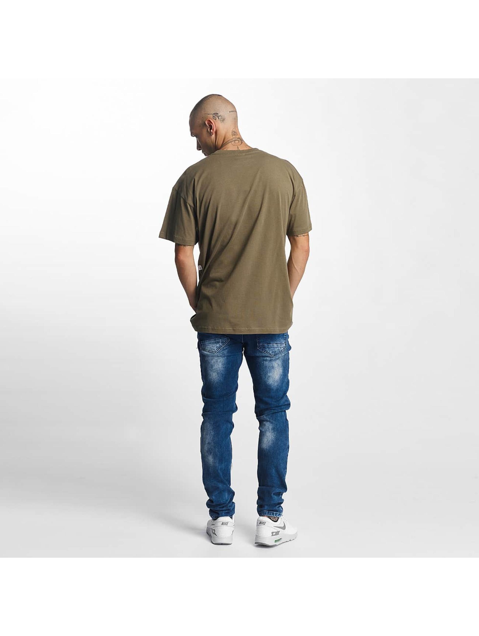 K1X T-paidat Crest oliivi