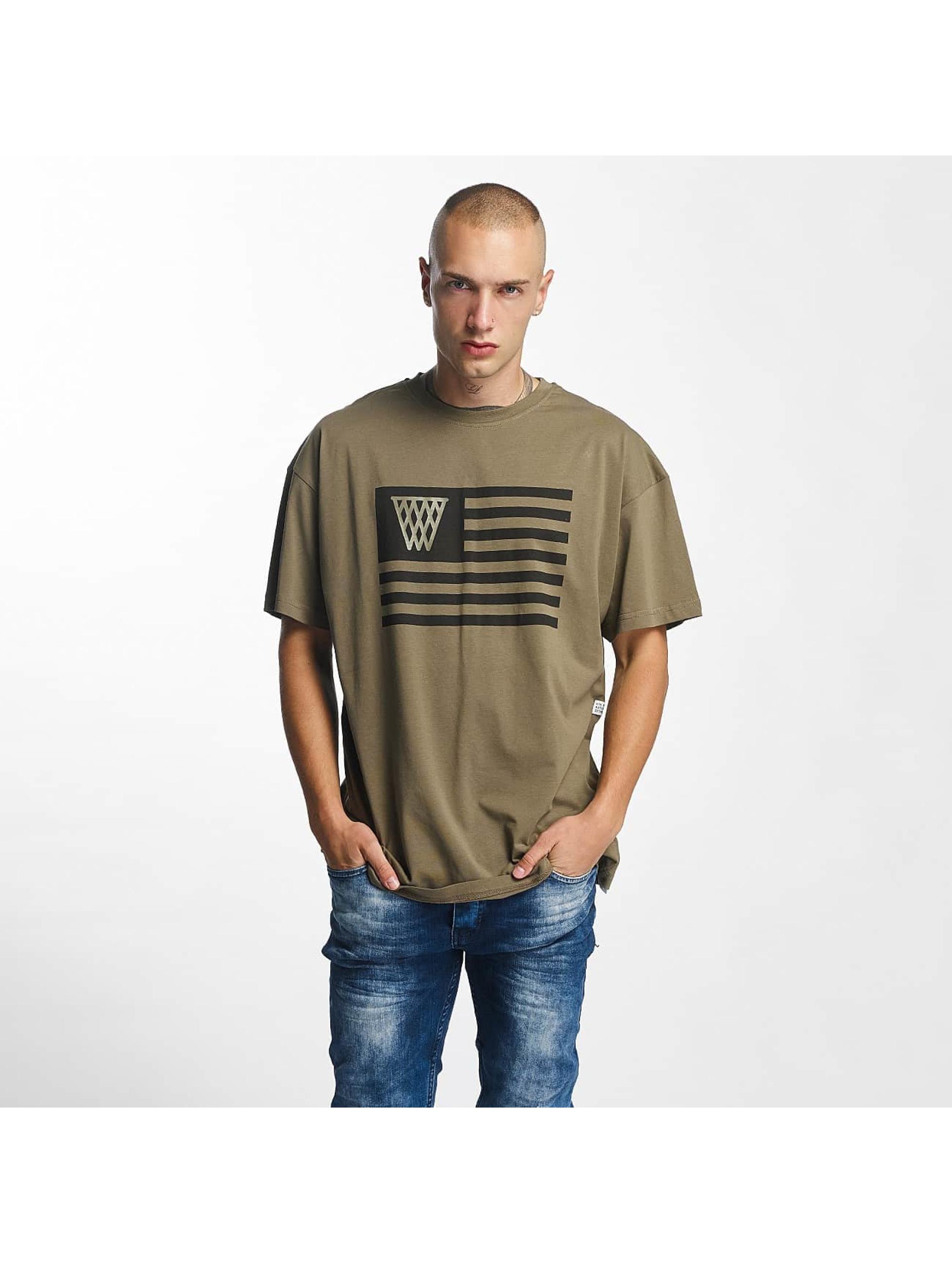 K1X T-paidat NOH Flag oliivi