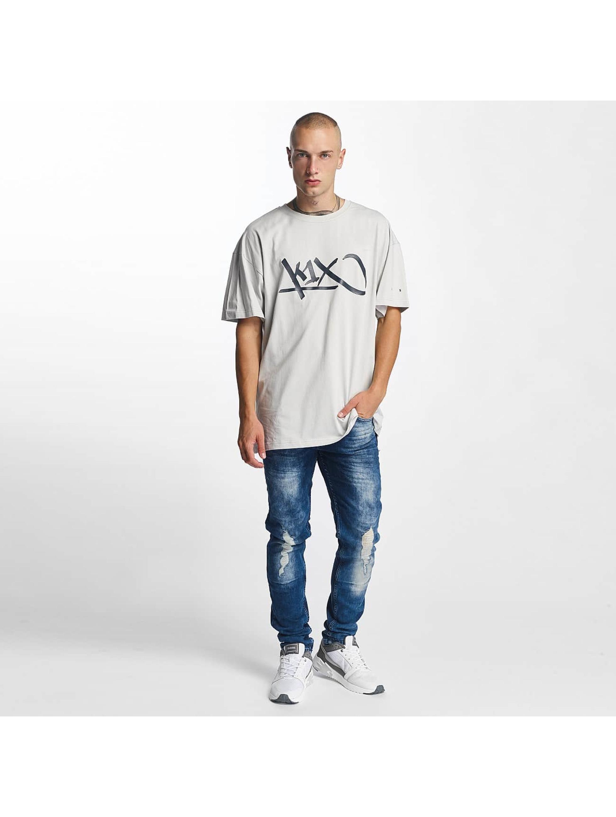 K1X T-Shirt Ivery Sports Tag gray