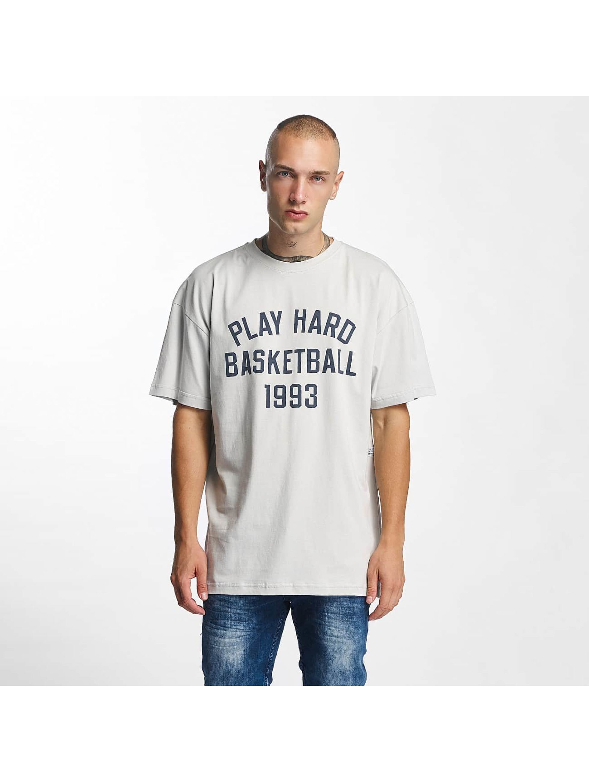 K1X T-Shirt Play Hard Basketball gris