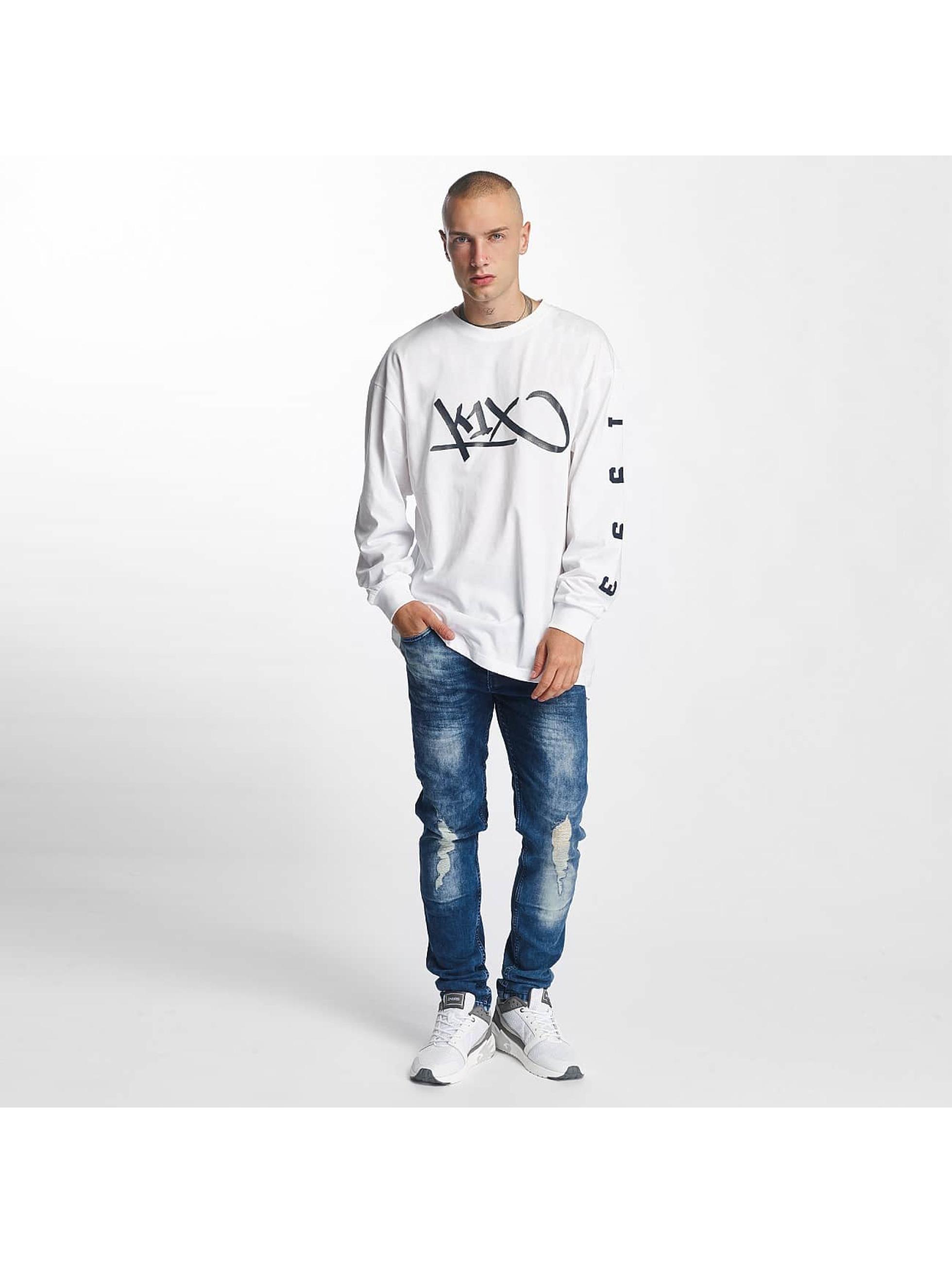 K1X T-Shirt manches longues Ivery Sports blanc