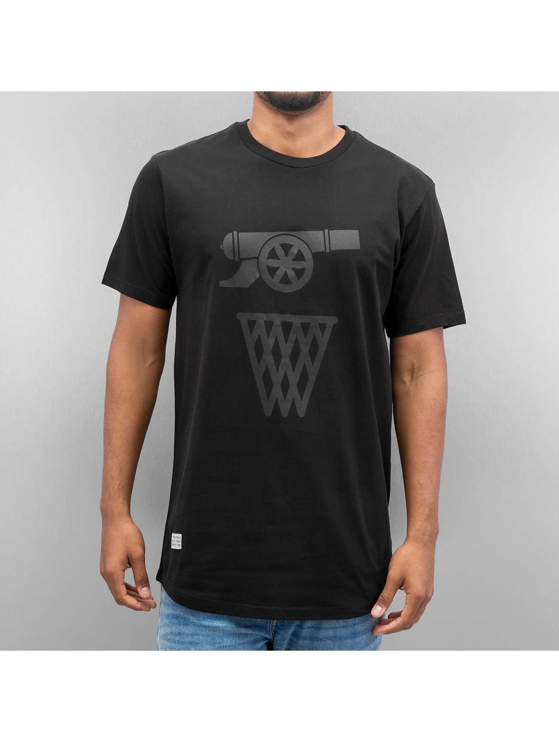 K1X t-shirt Monochrome Shoot&Score zwart