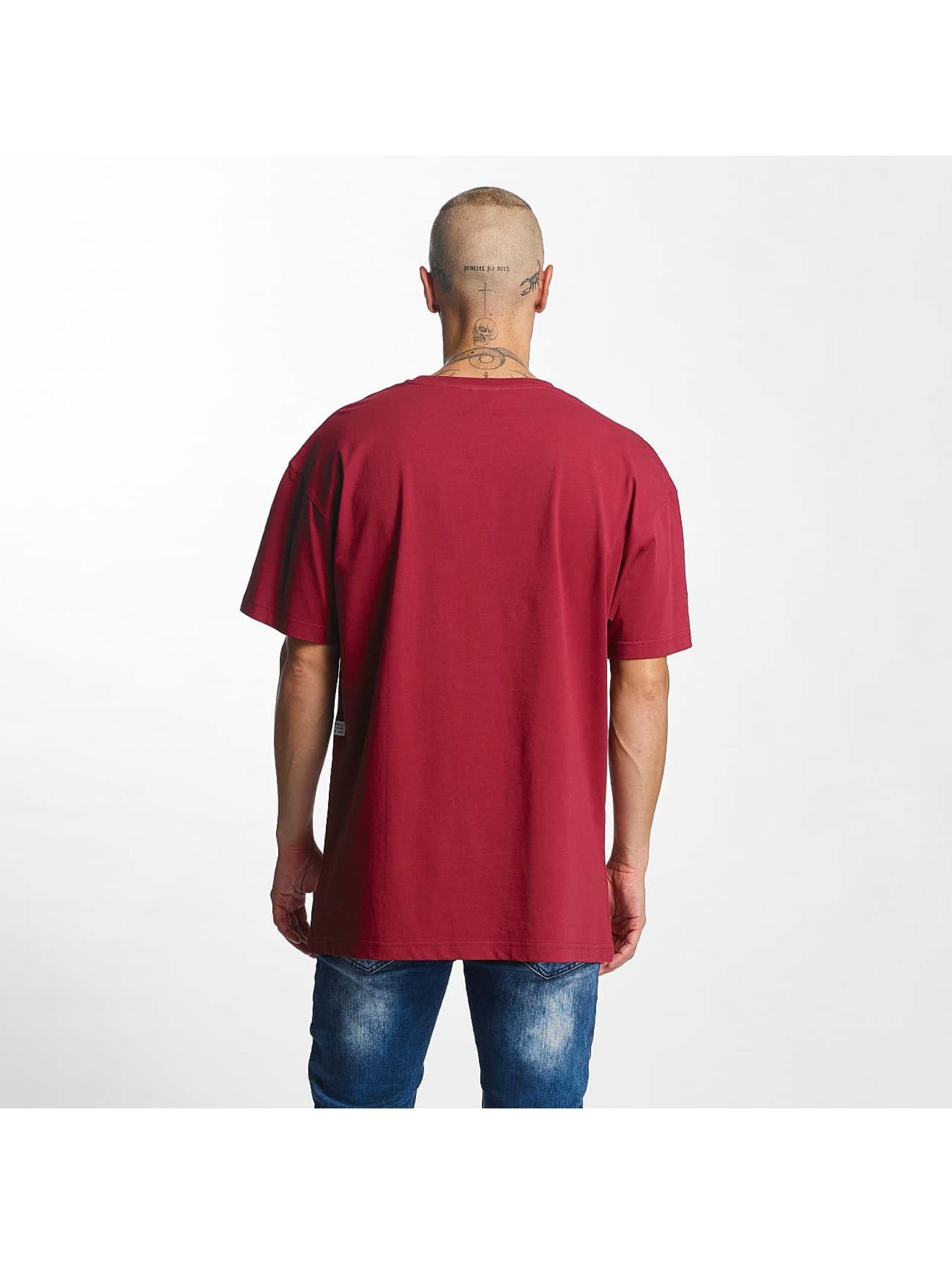 K1X T-Shirty Play Hard Basketball czerwony