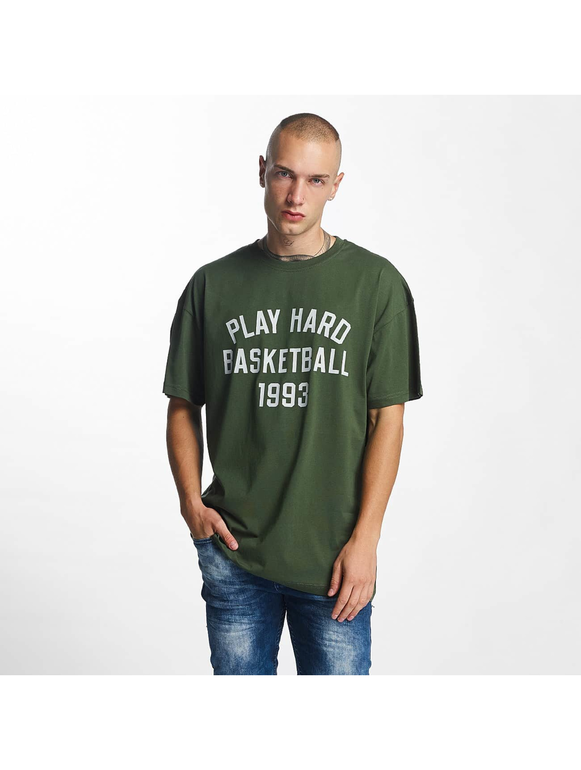 K1X T-Shirty Play Hard Basketball zielony