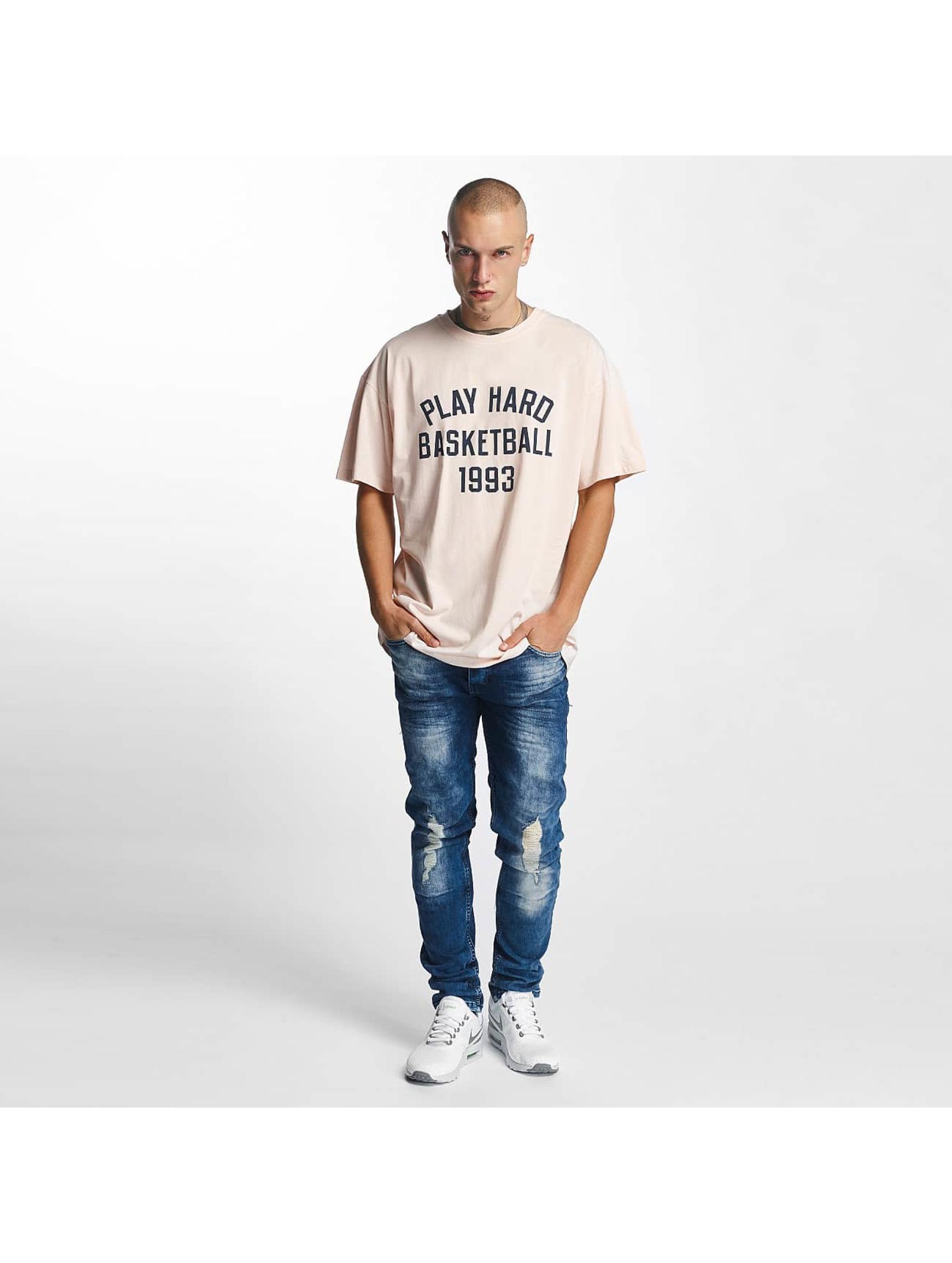 K1X T-skjorter Play Hard Basketball rosa