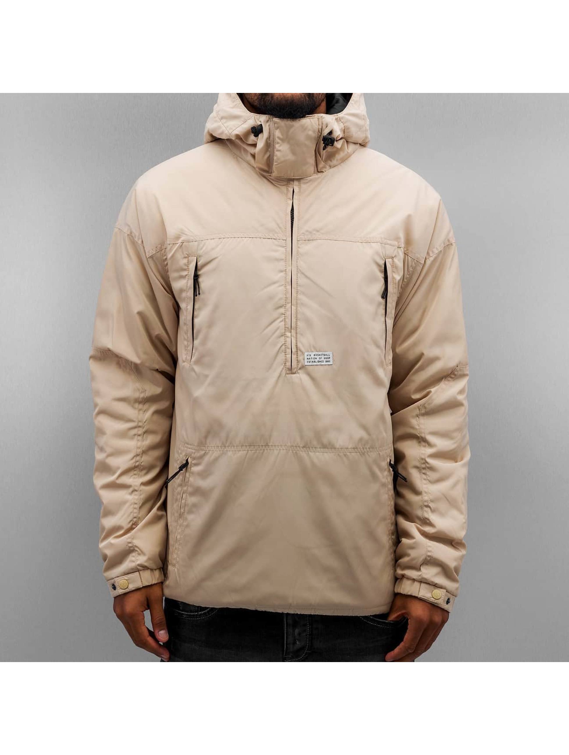 K1X Transitional Jackets Urban Hooded beige