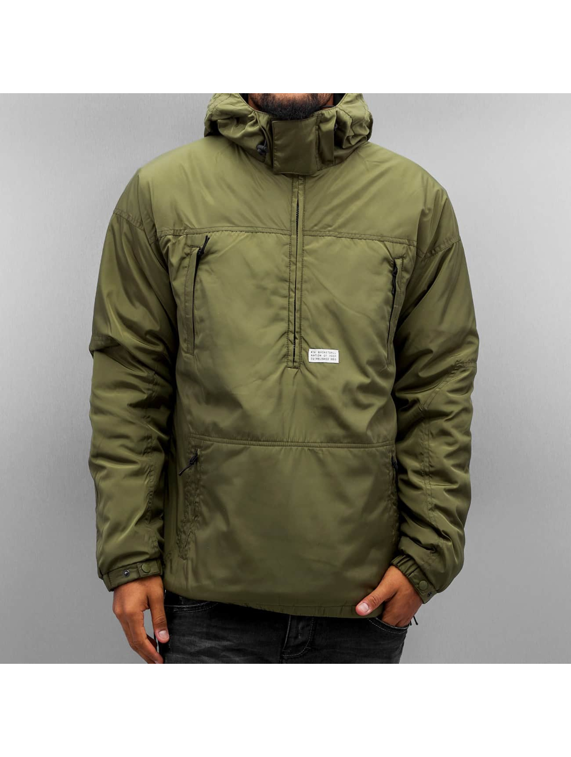 K1X Transitional Jackets Urban Hooded oliven