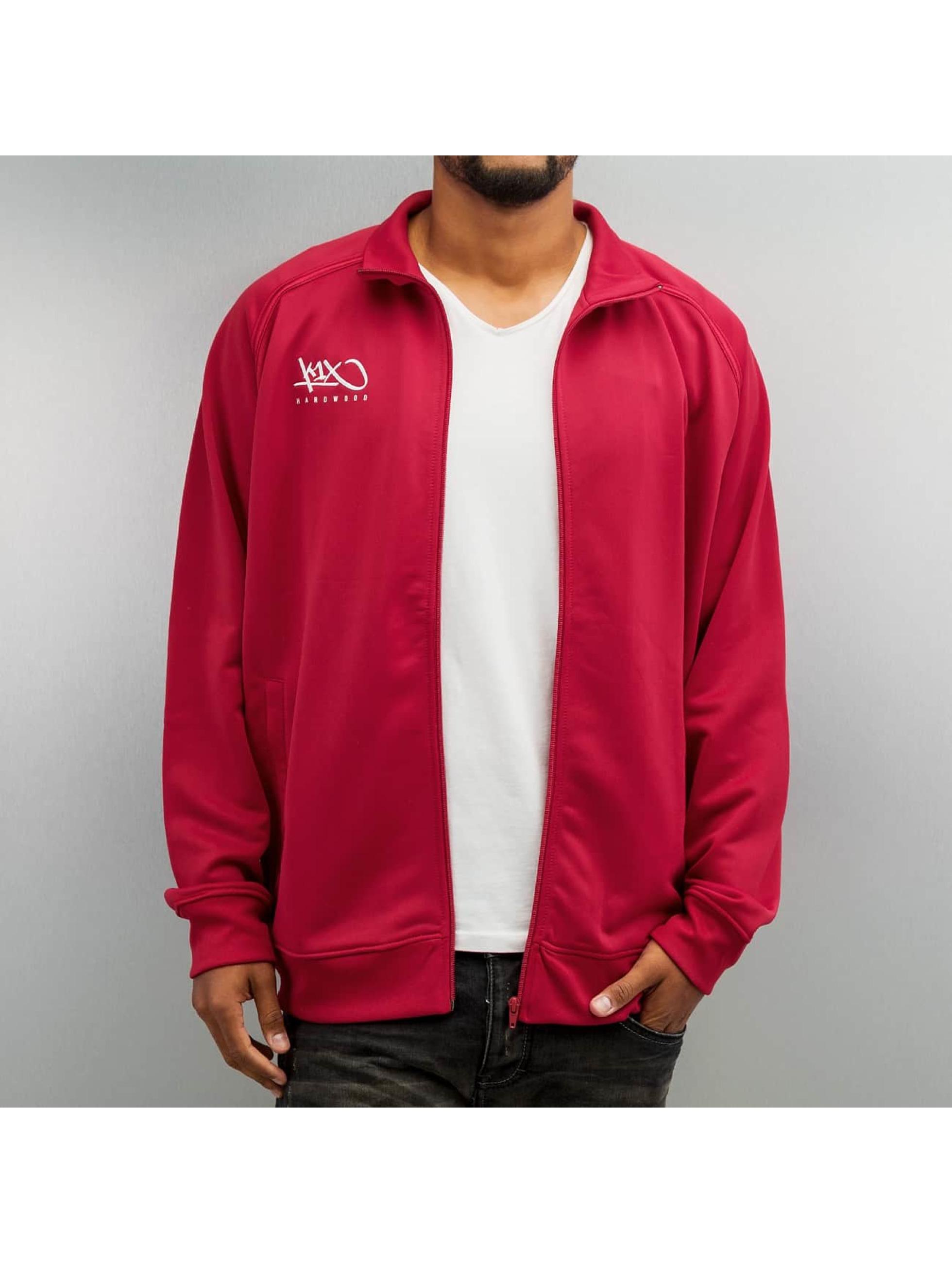 K1X Transitional Jackets Hardwood Intimidator Warm Up red