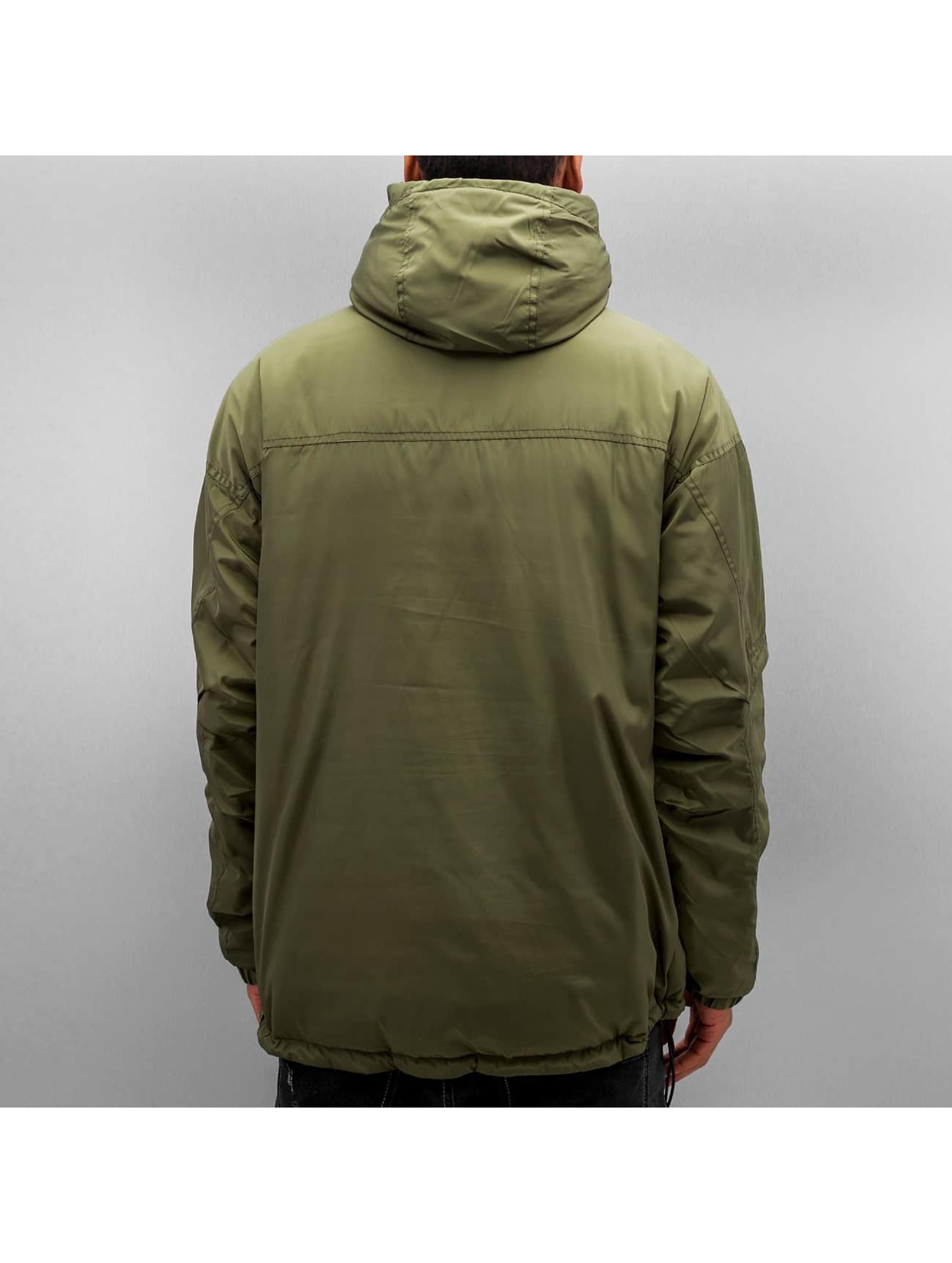 K1X Übergangsjacke Urban Hooded olive