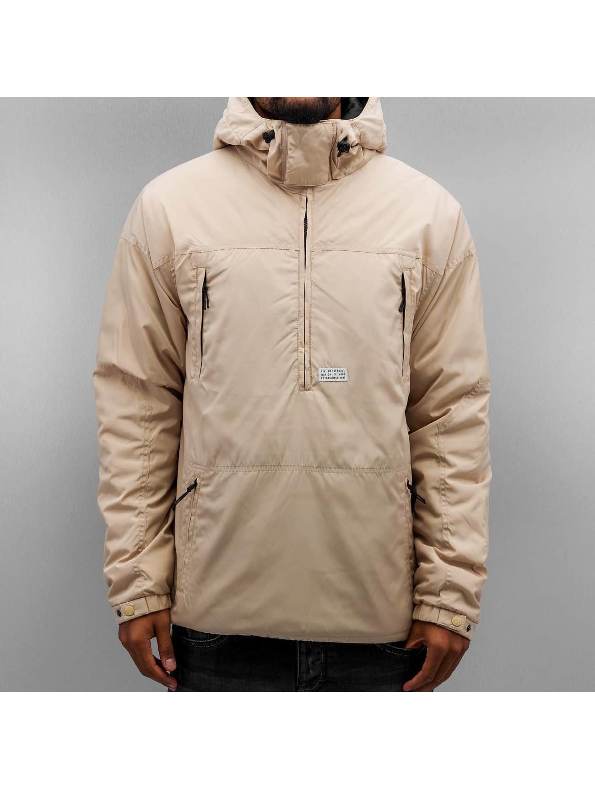 K1X Välikausitakit Urban Hooded beige